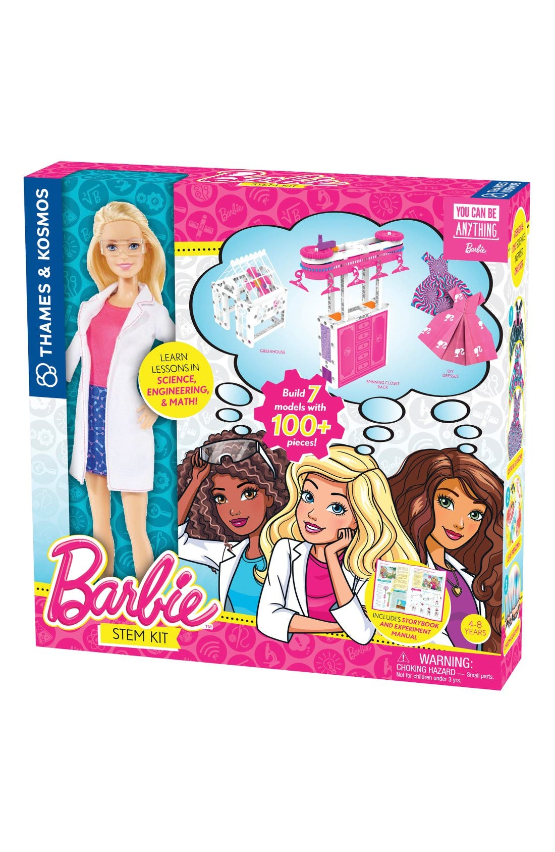 Thames & Kosmos Barbie® STEM Kit & Doll Set