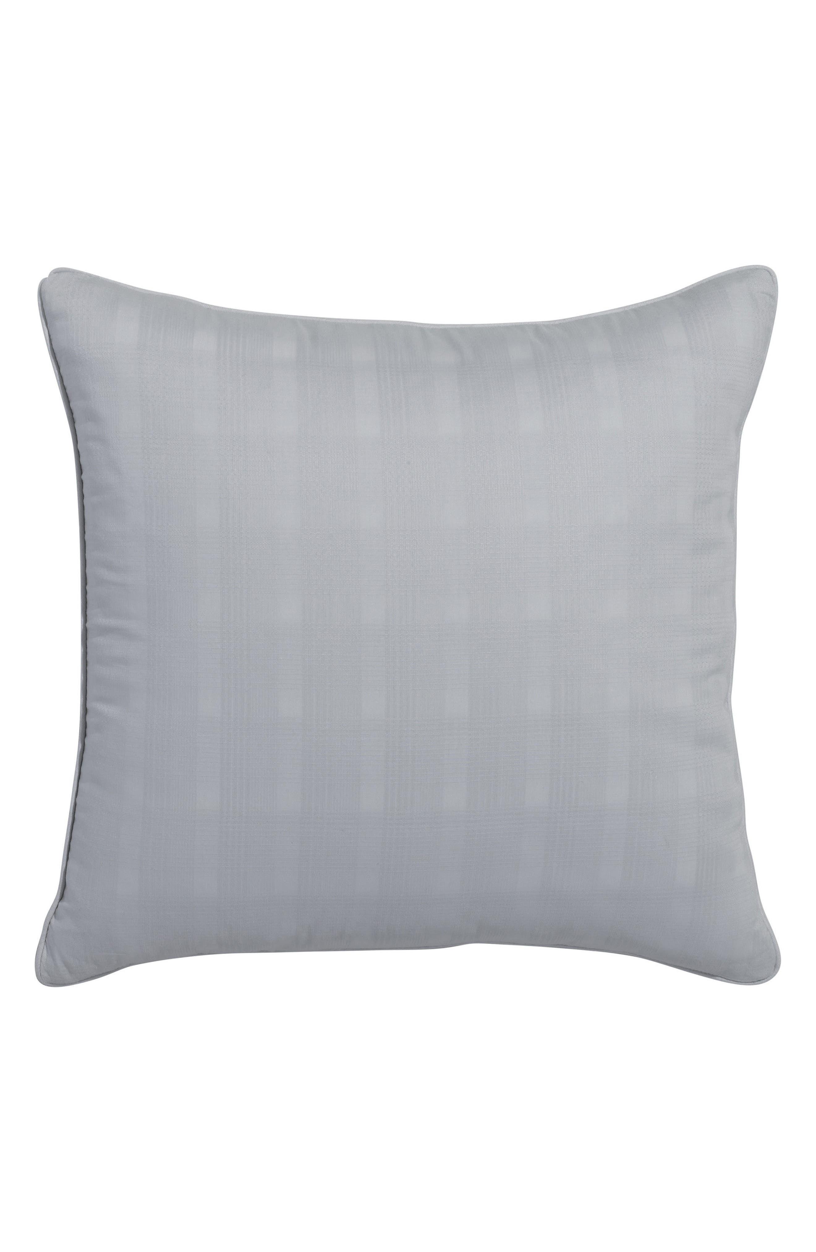 Glacier Bay Plaid Accent Pillow,                         Main,                         color, Highrise