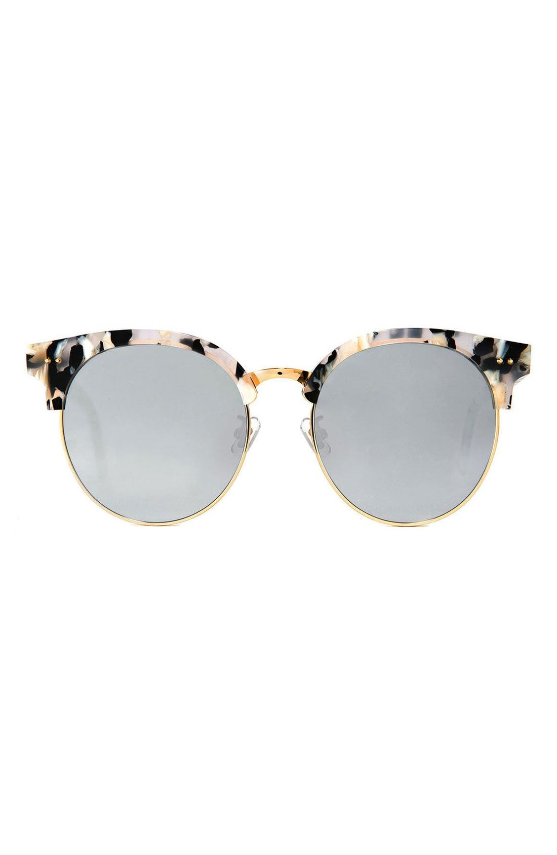 GENTLE MONSTER Moon Cut 55mm Sunglasses