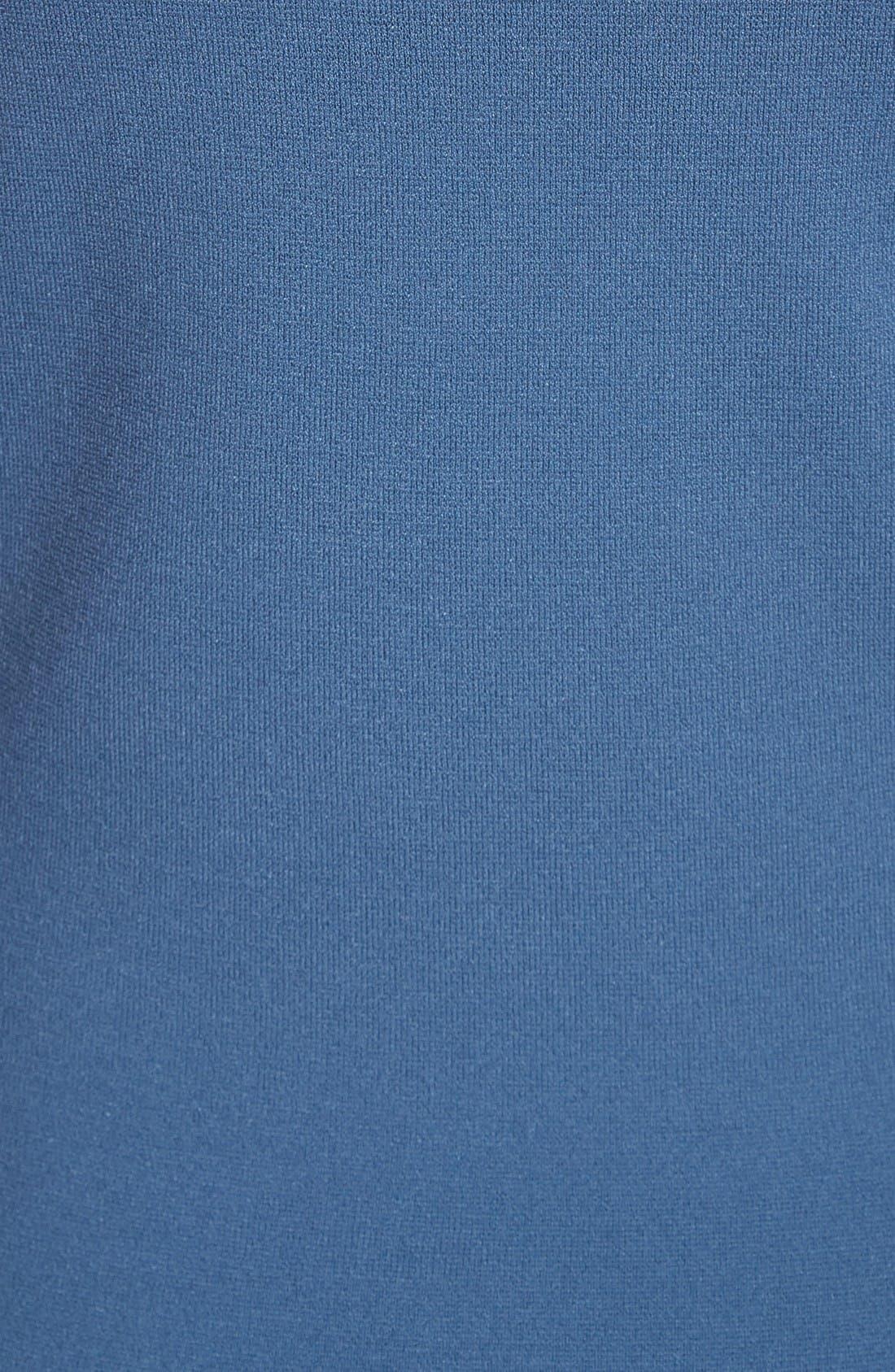 Knit Tank Dress,                             Alternate thumbnail 5, color,                             Indigo
