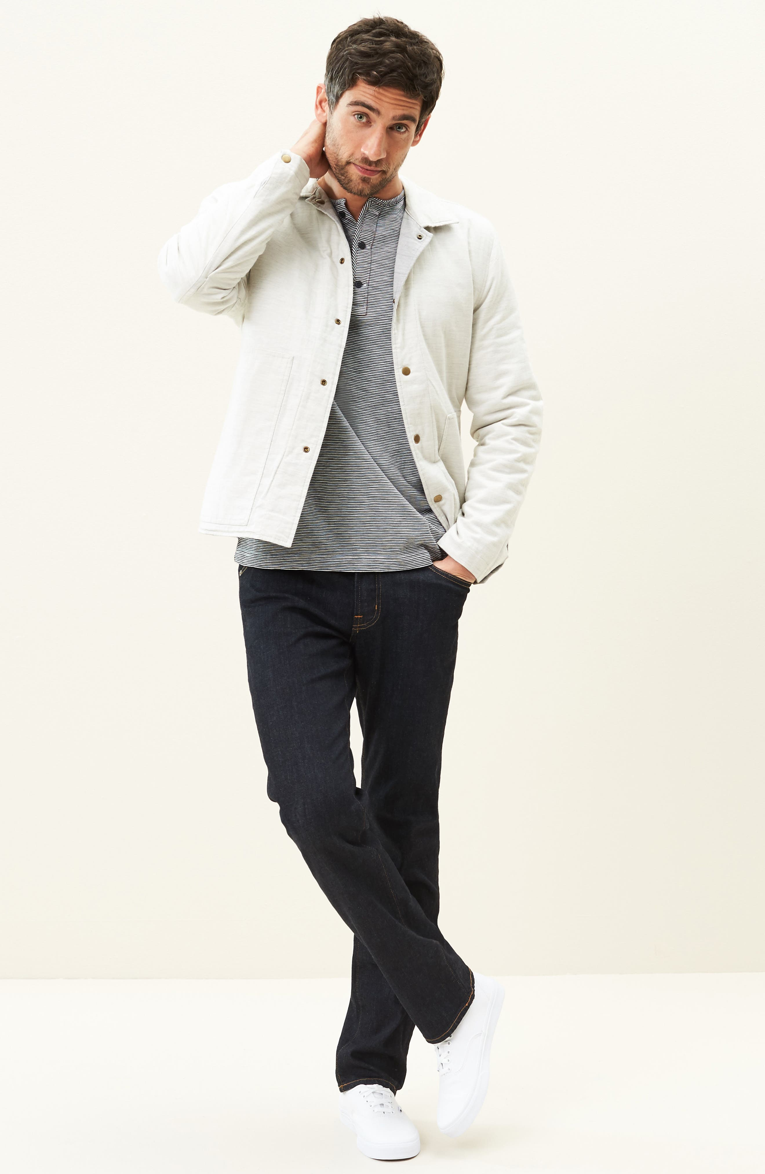 Alternate Image 6  - AG 'Graduate' Slim Straight Leg Jeans (Jack) (Regular & Tall)
