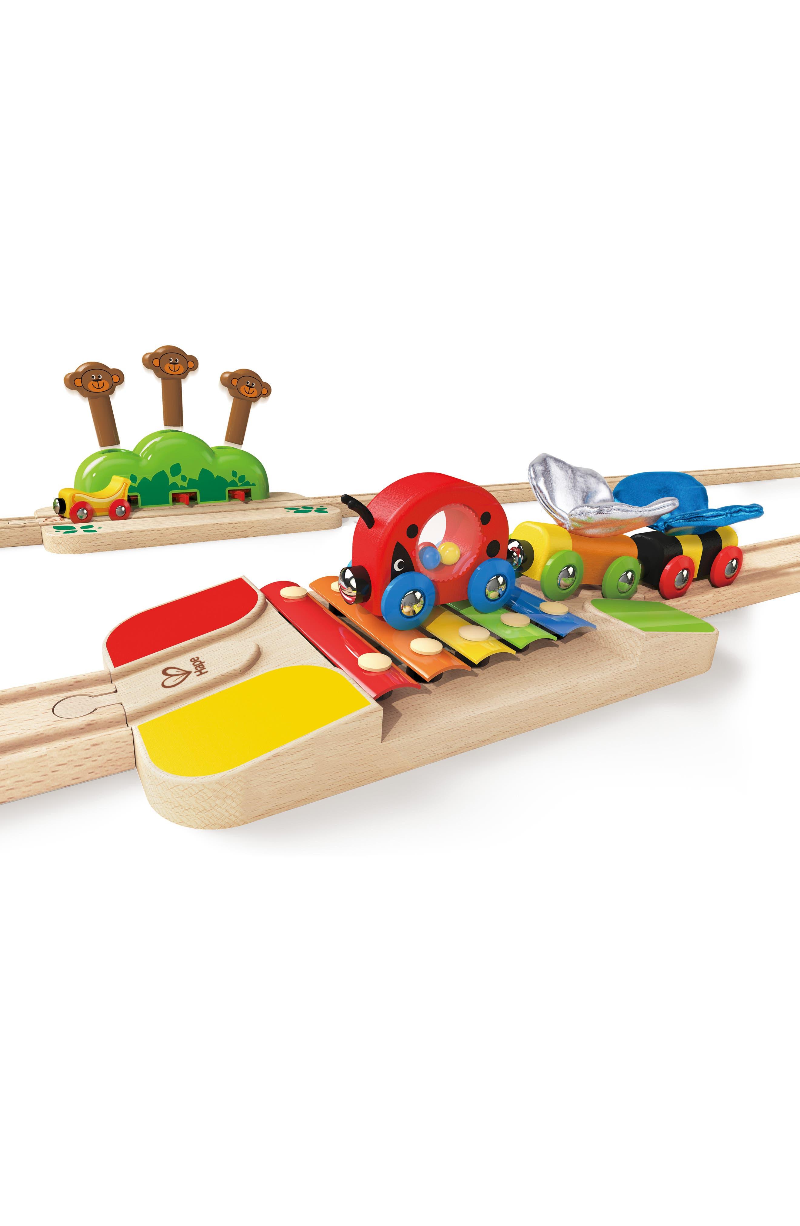 My Little Railway Wooden Train Set,                             Alternate thumbnail 2, color,                             Multi