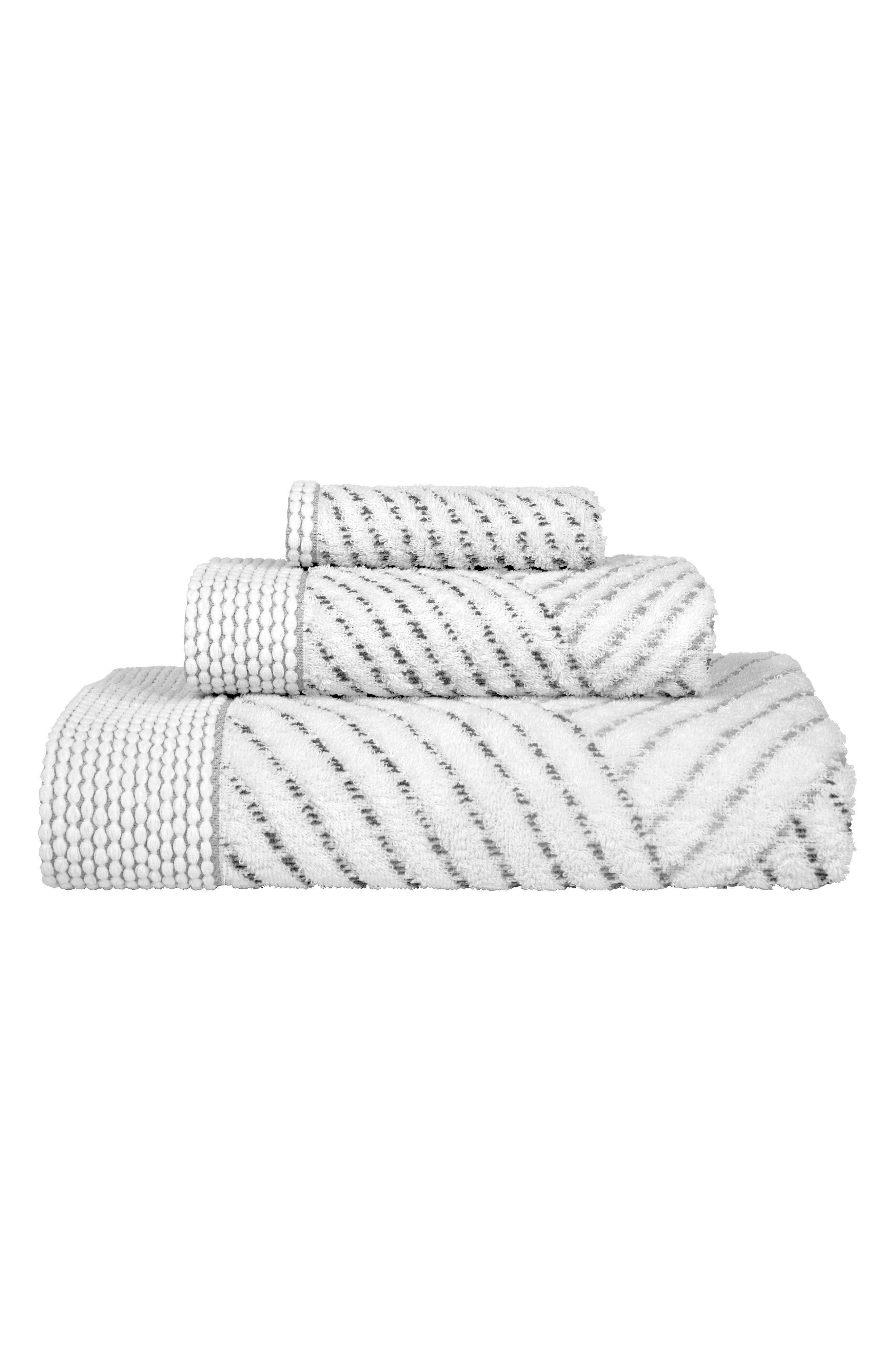 Sazid Bath Towel,                             Alternate thumbnail 2, color,                             Grey