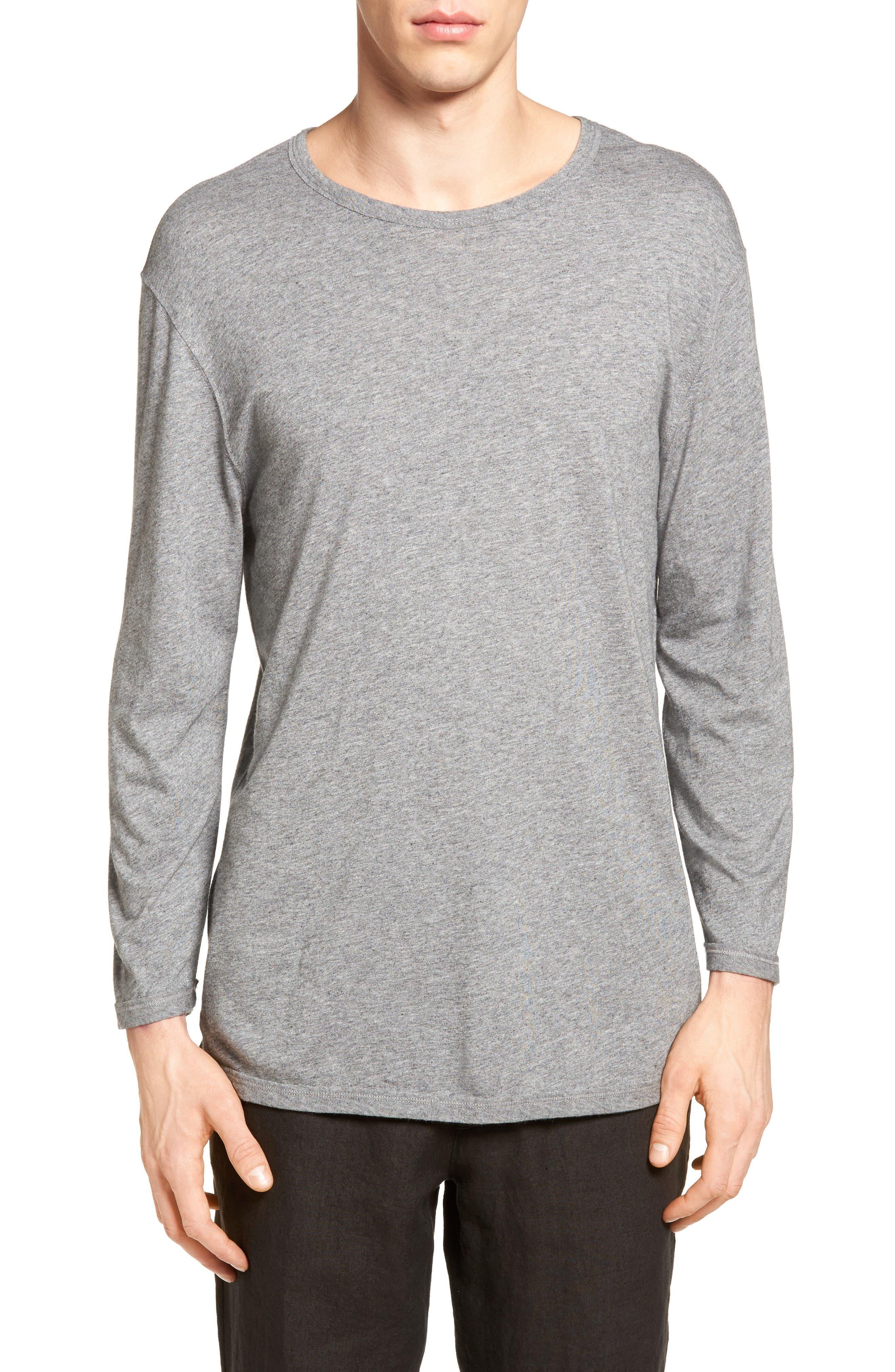 Vince Reverse Hem T-Shirt