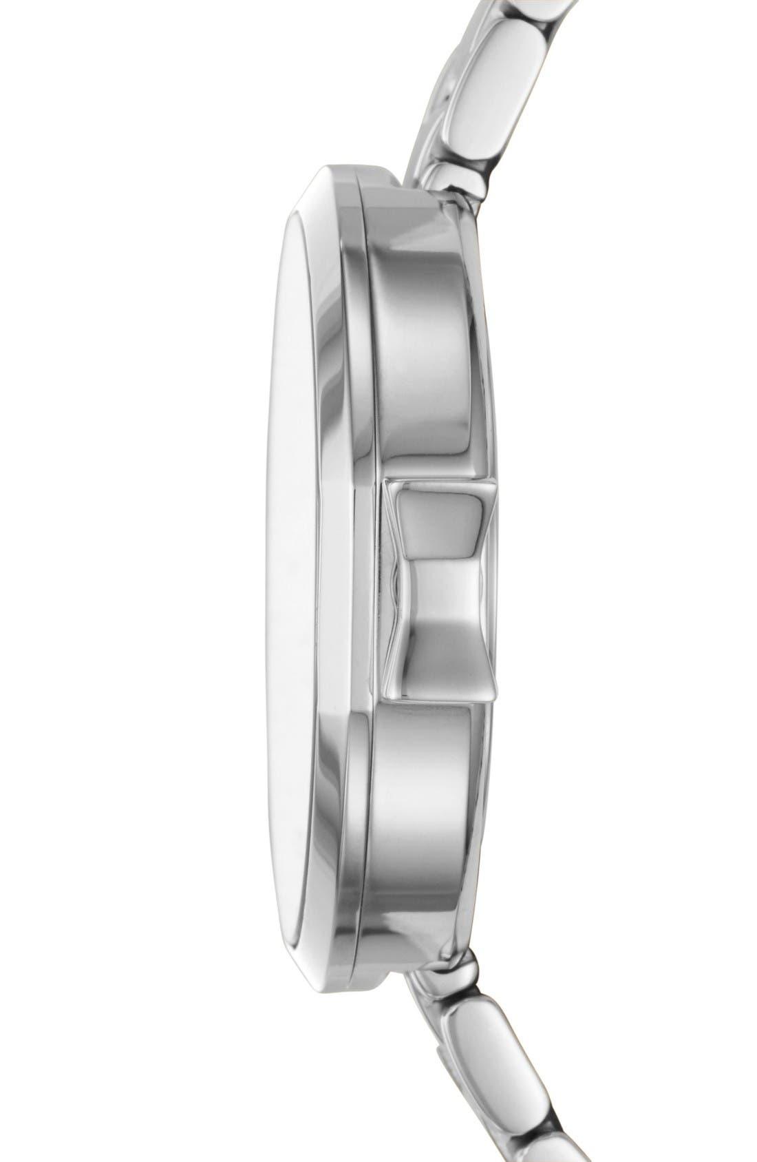 park row bracelet watch, 34mm,                             Alternate thumbnail 2, color,                             Silver
