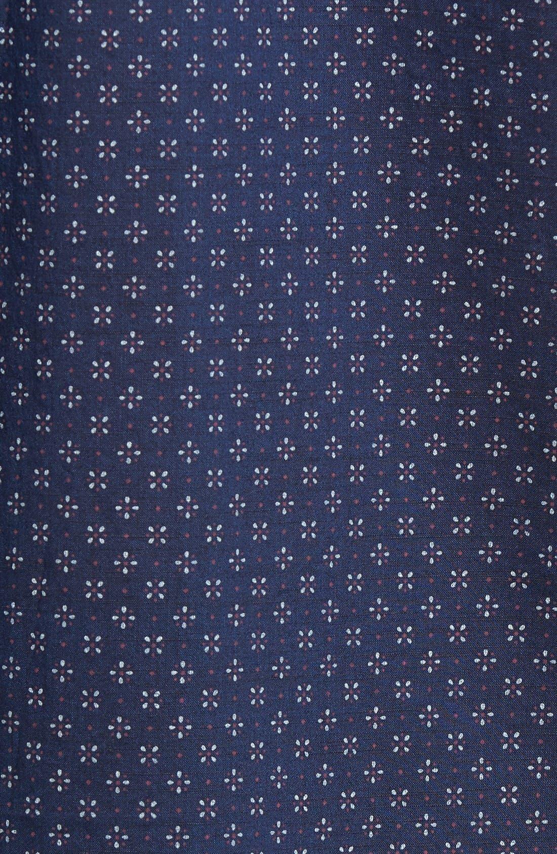 Alternate Image 5  - Zachary Prell Kinnear Slim Fit Print Shirt