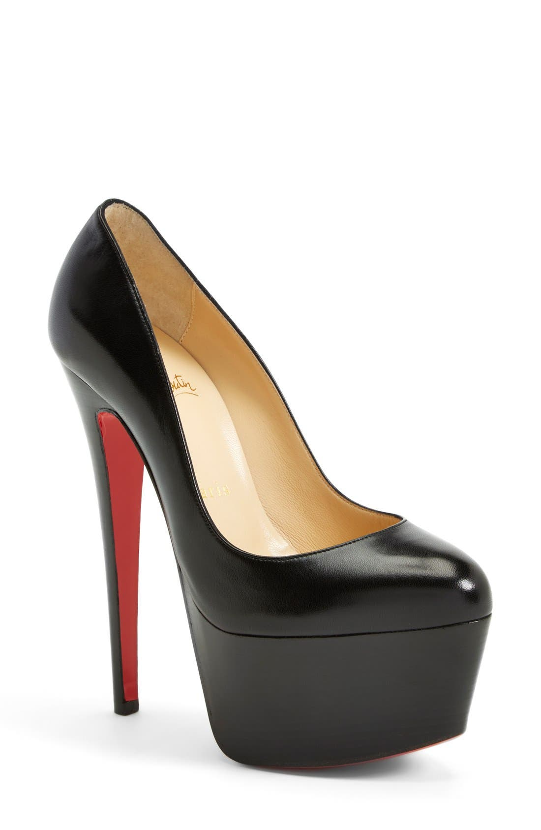 Alternate Image 1 Selected - Christian Louboutin 'Victoria' Platform Pump