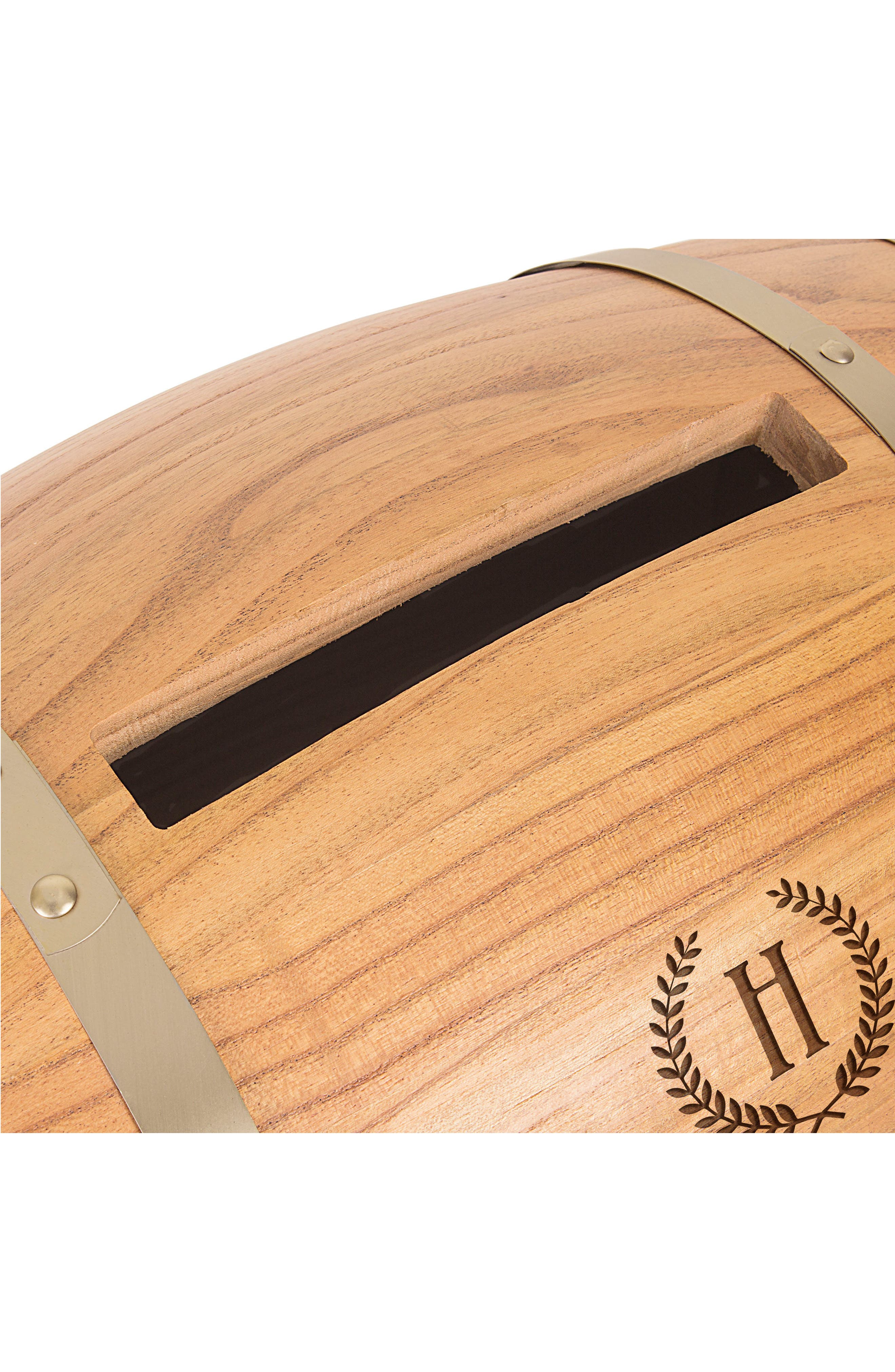Alternate Image 3  - Cathy's Concepts Wine Barrel Reception Card Holder