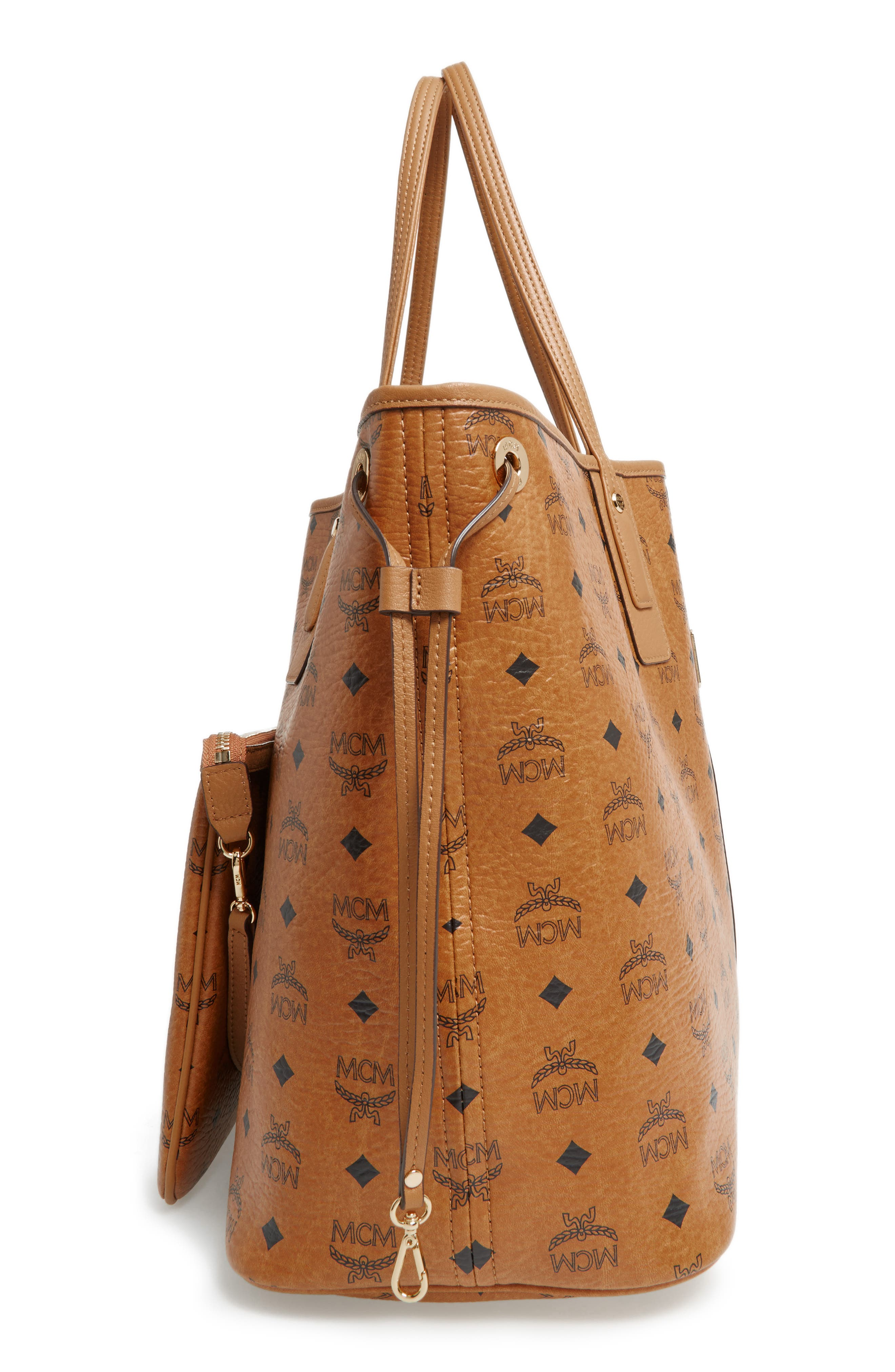 Alternate Image 6  - MCM 'Large Liz' Reversible Shopper