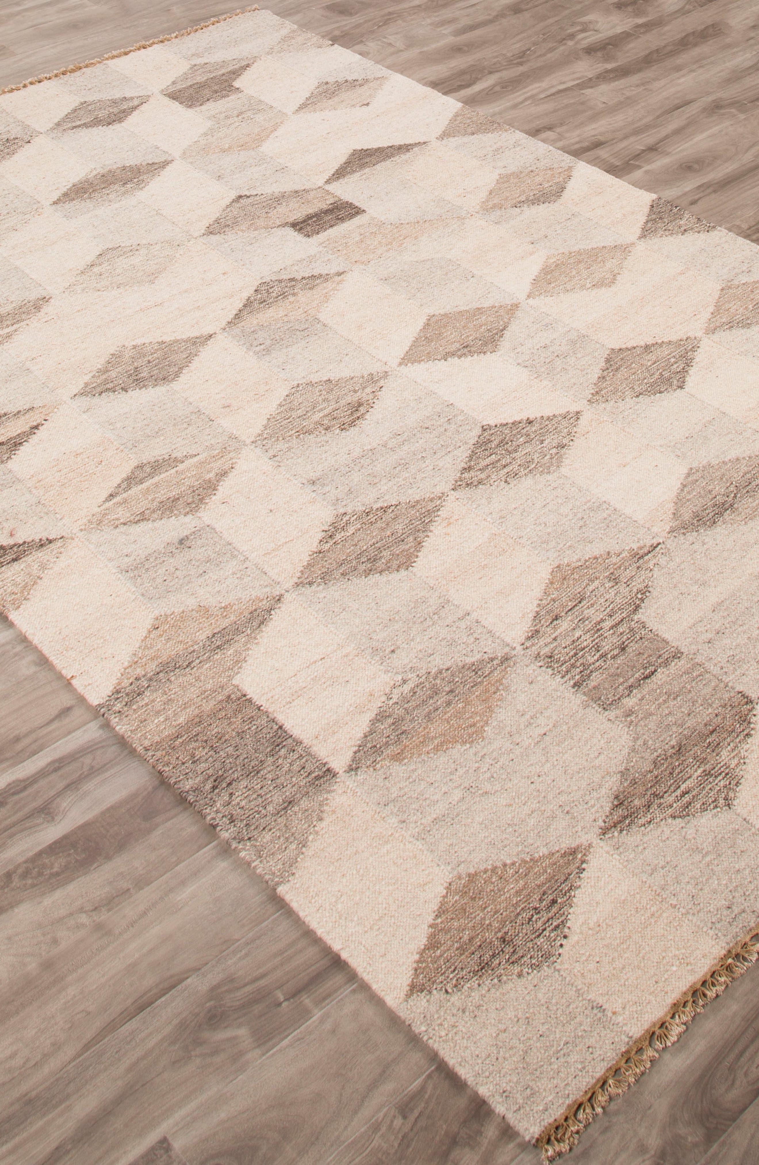 Alternate Image 3  - Jaipur Pyramid Blocks Wool Rug