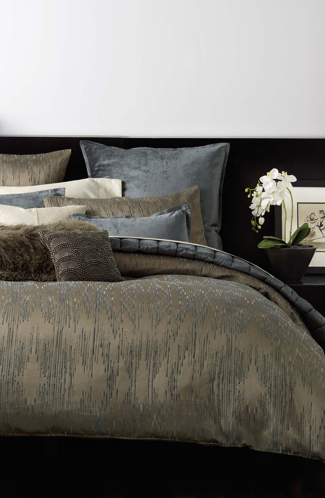Donna Karan Collection 'Exhale' Duvet Cover,                         Main,                         color, Taupe