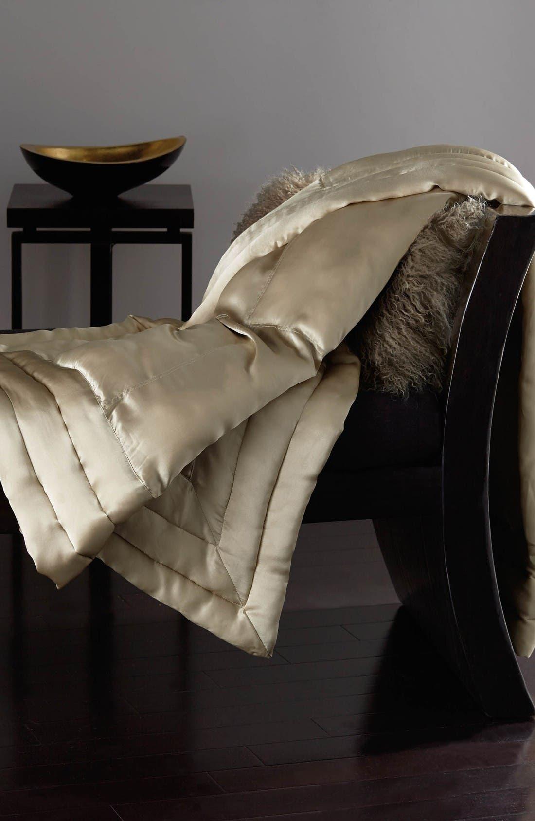 Alternate Image 1 Selected - Donna Karan New York Silk Throw