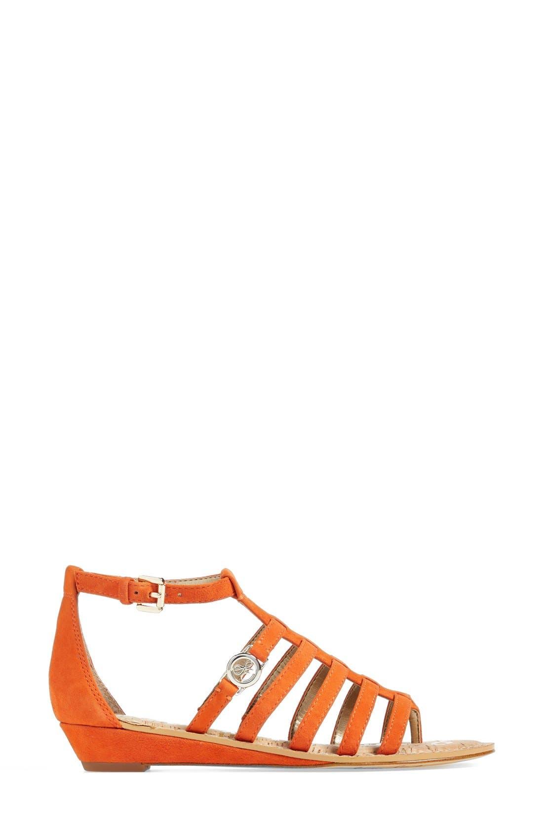 Alternate Image 4  - Sam Edelman 'Donna' Gladiator Sandal (Women)
