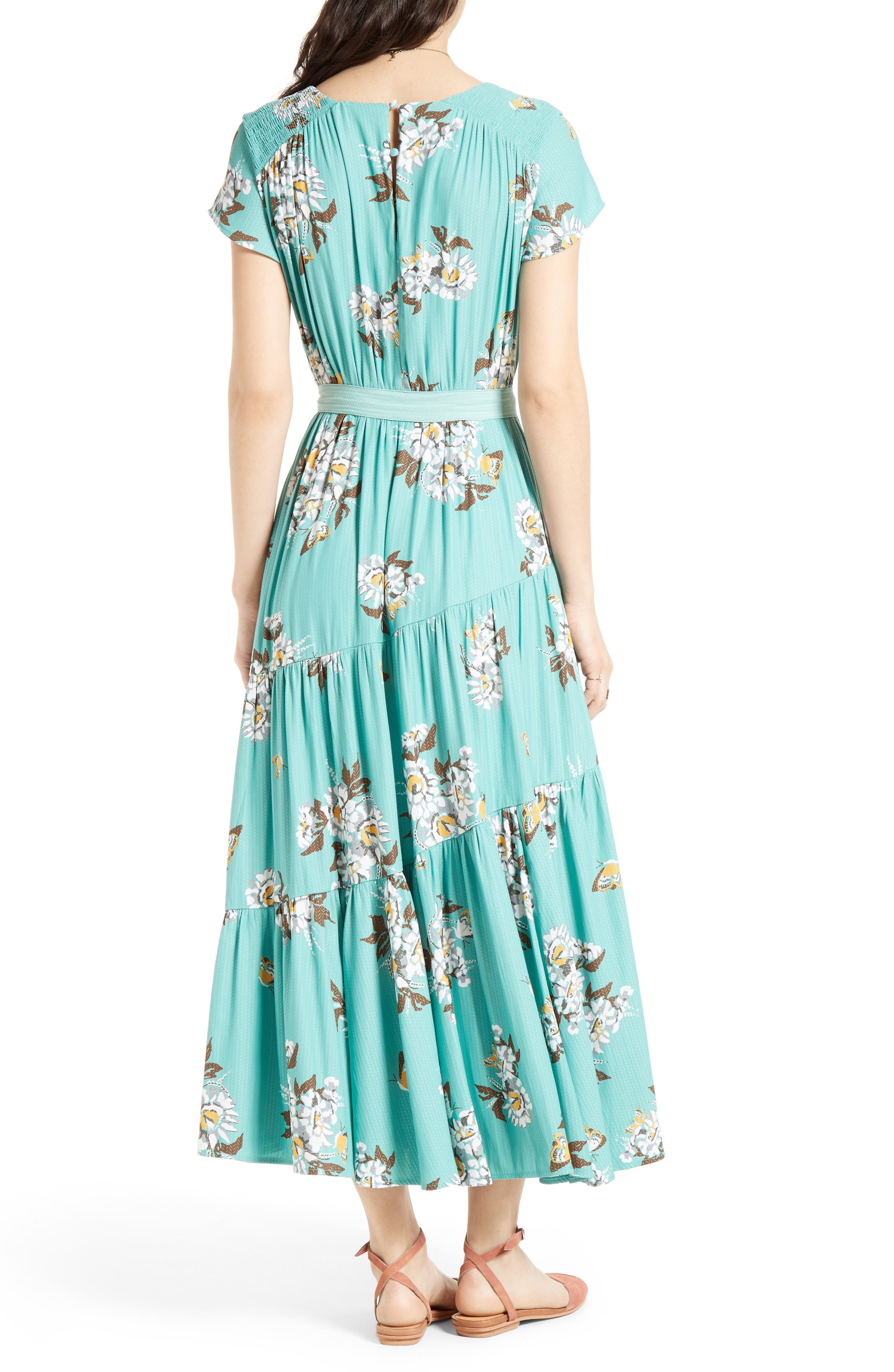 All I Got Maxi Dress,                             Alternate thumbnail 2, color,                             Botanic Combo