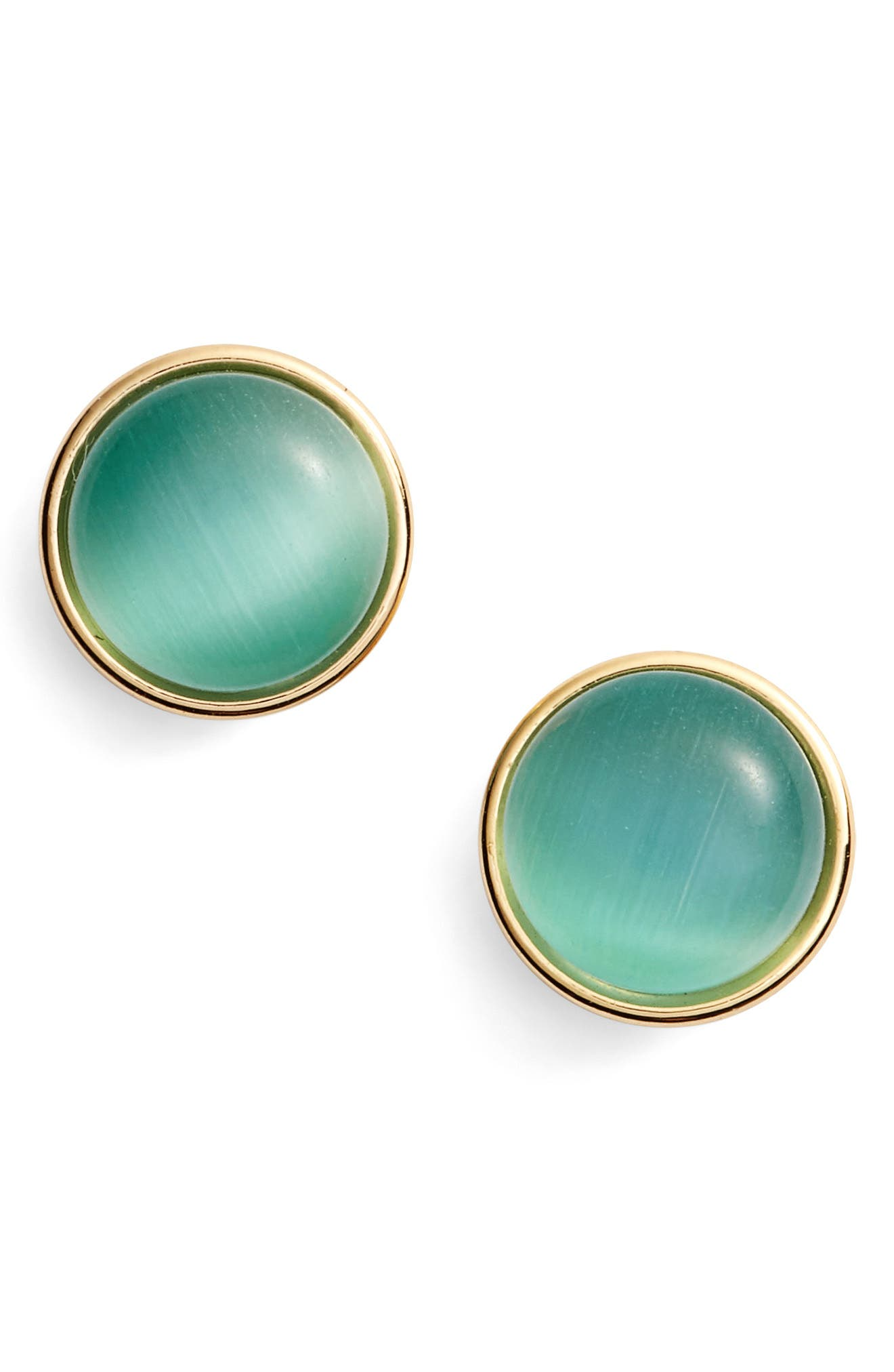 'forever' stud earrings,                         Main,                         color, Turquoise