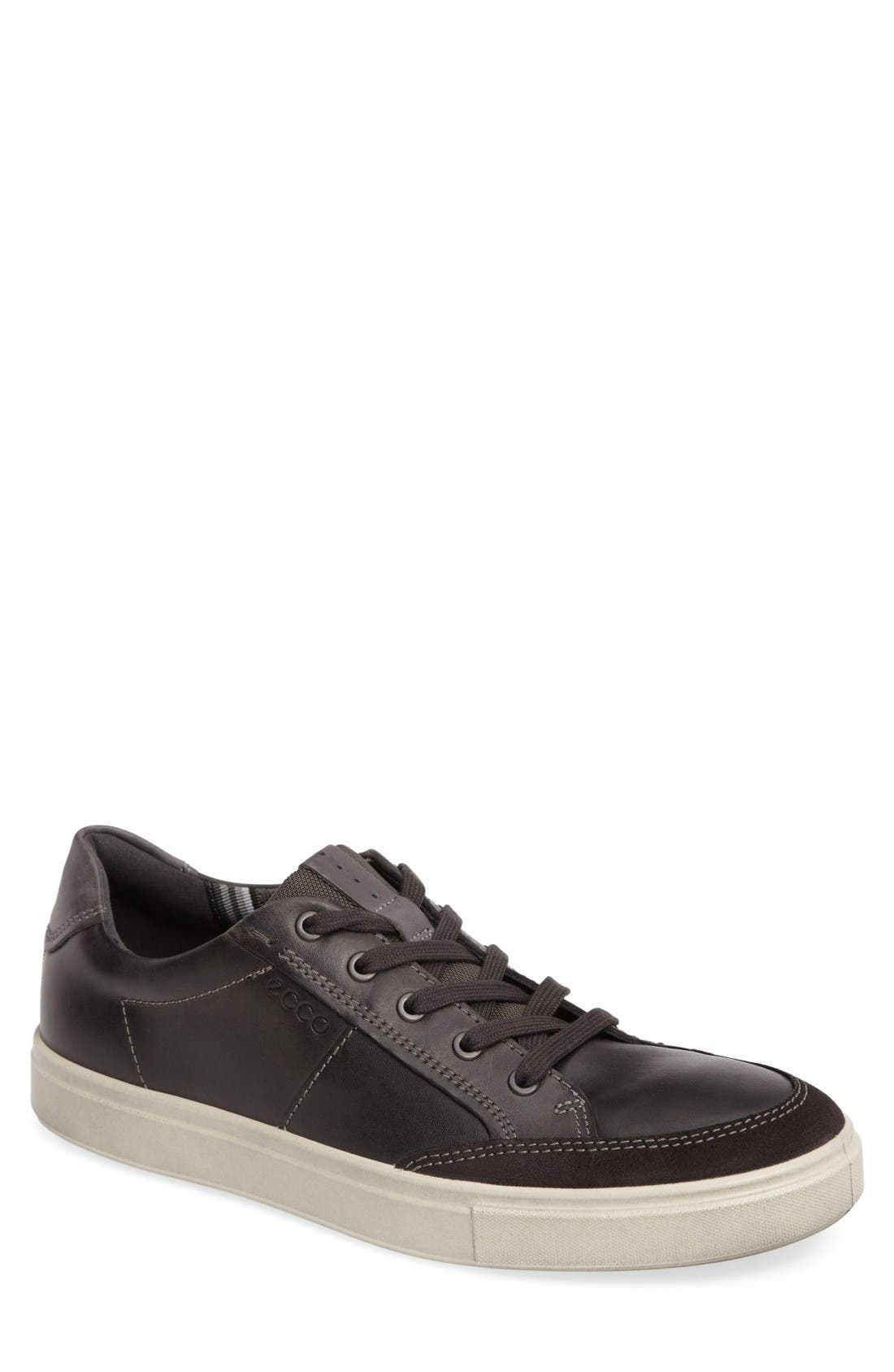 Kyle Classic Sneaker,                         Main,                         color, Moonless Leather