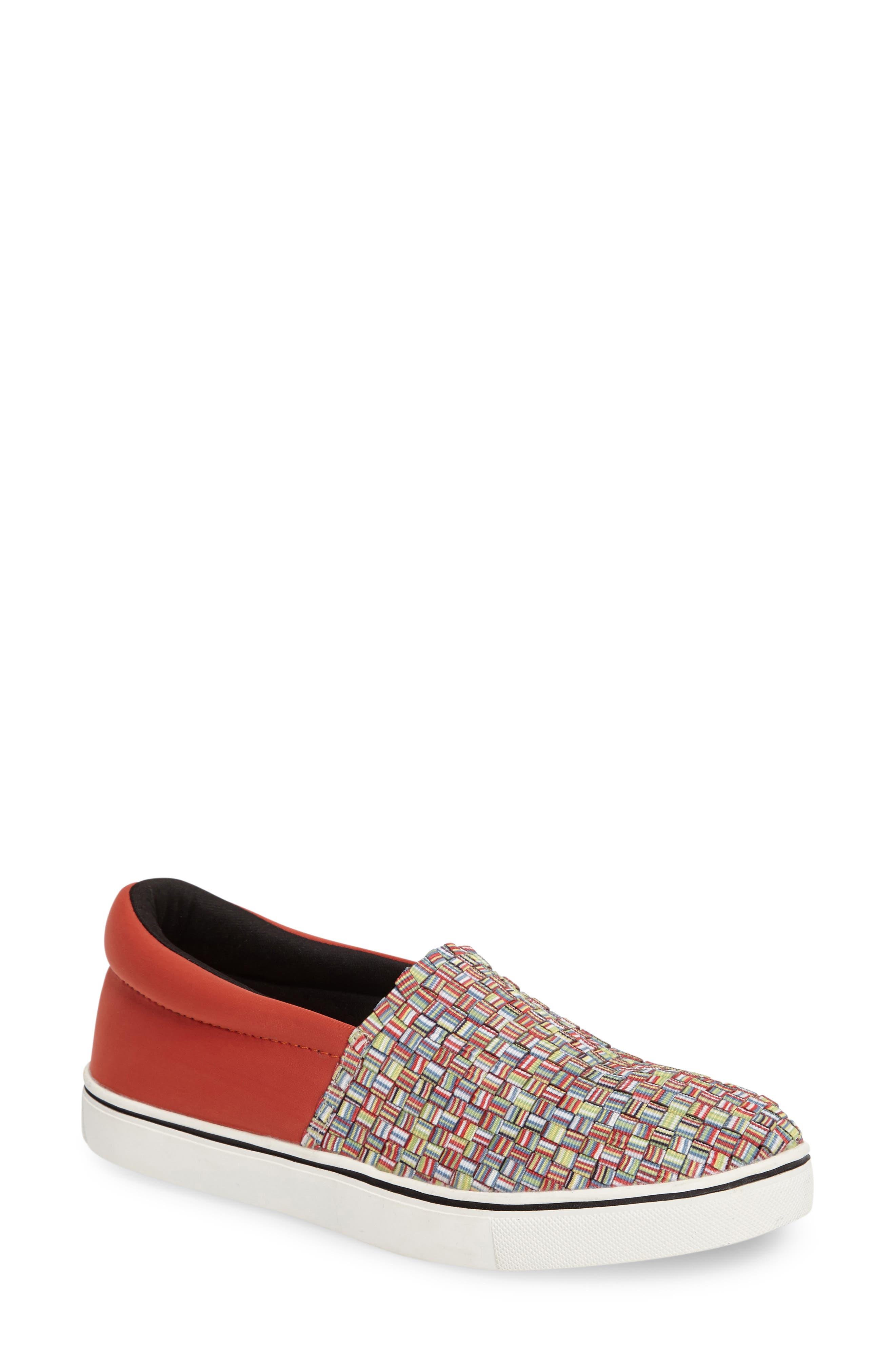 bernie mev. Ofelia Woven Elastic Sneaker (Women)