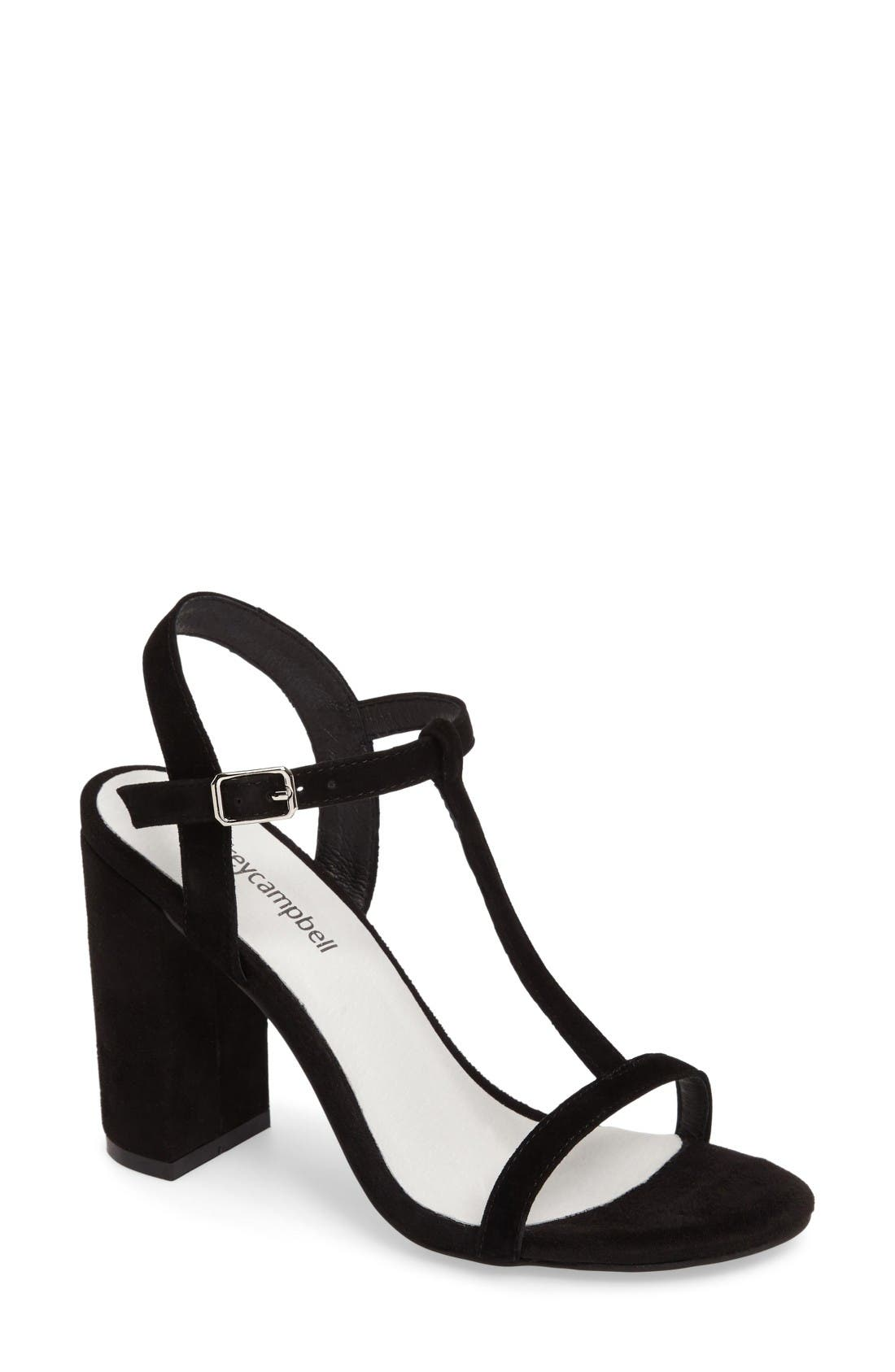 Alternate Image 1 Selected - Jeffrey Campbell Marnie T-Strap Sandal (Women)