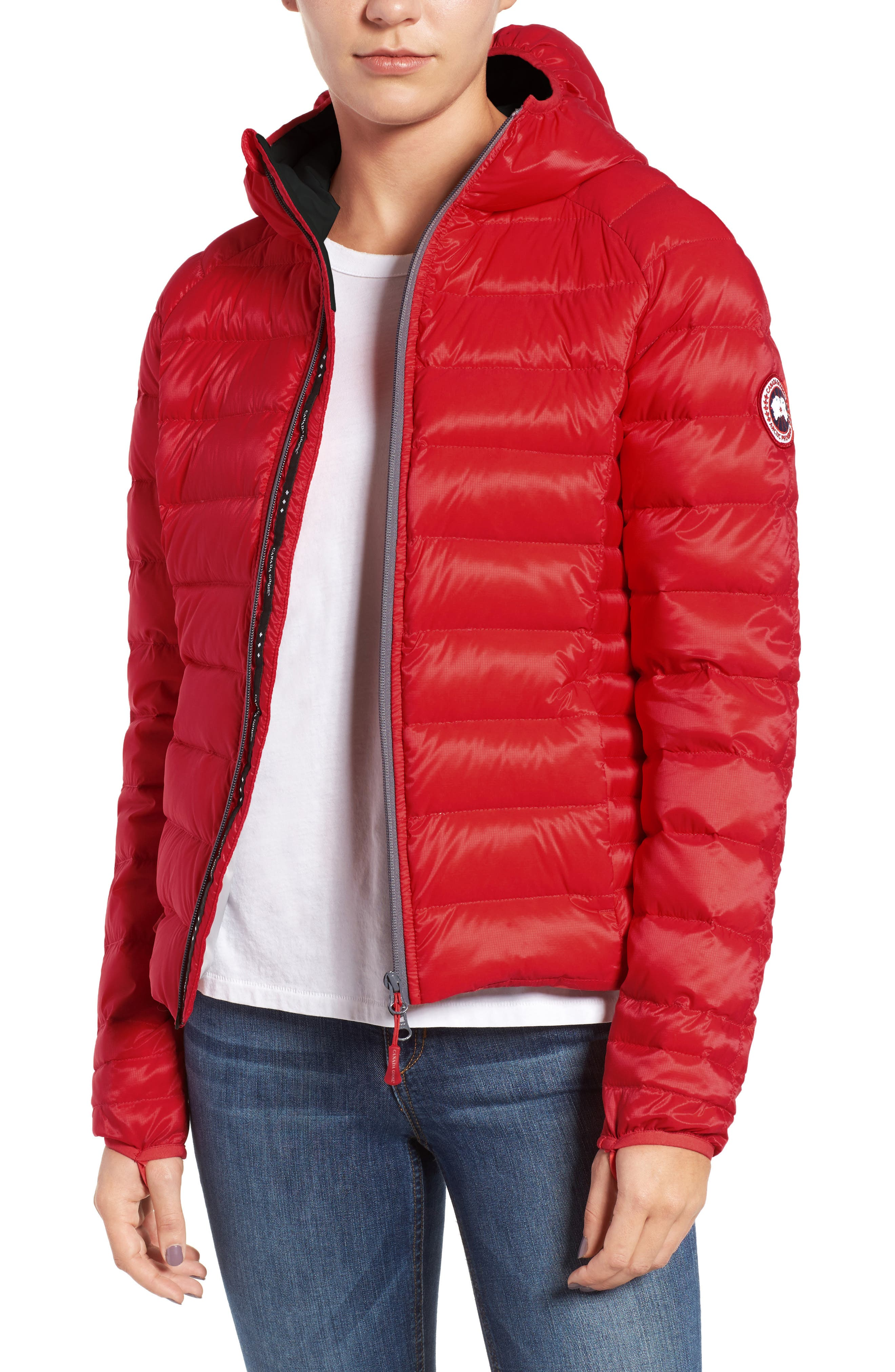 Alternate Image 1 Selected - Canada Goose 'Brookvale' Packable Hooded Quilted Down Jacket