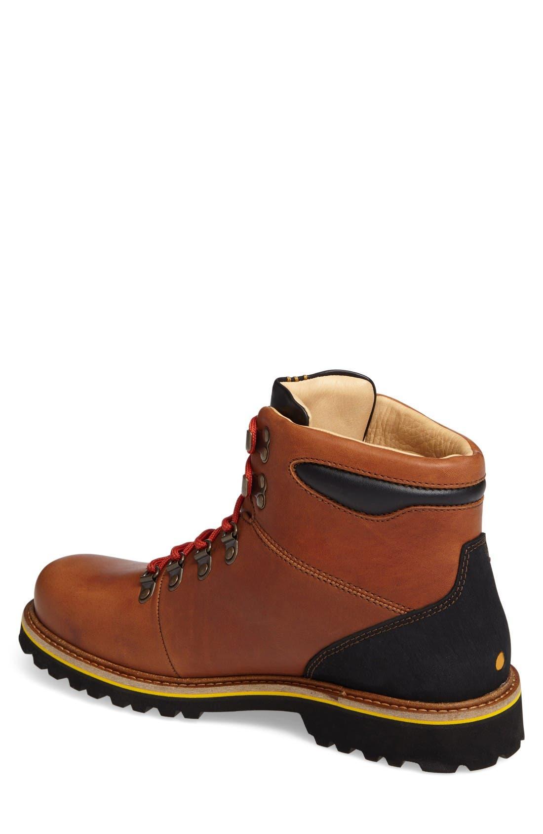 Mt. Tam Hiking Boot,                             Alternate thumbnail 2, color,                             Saddlebag Tan Leather