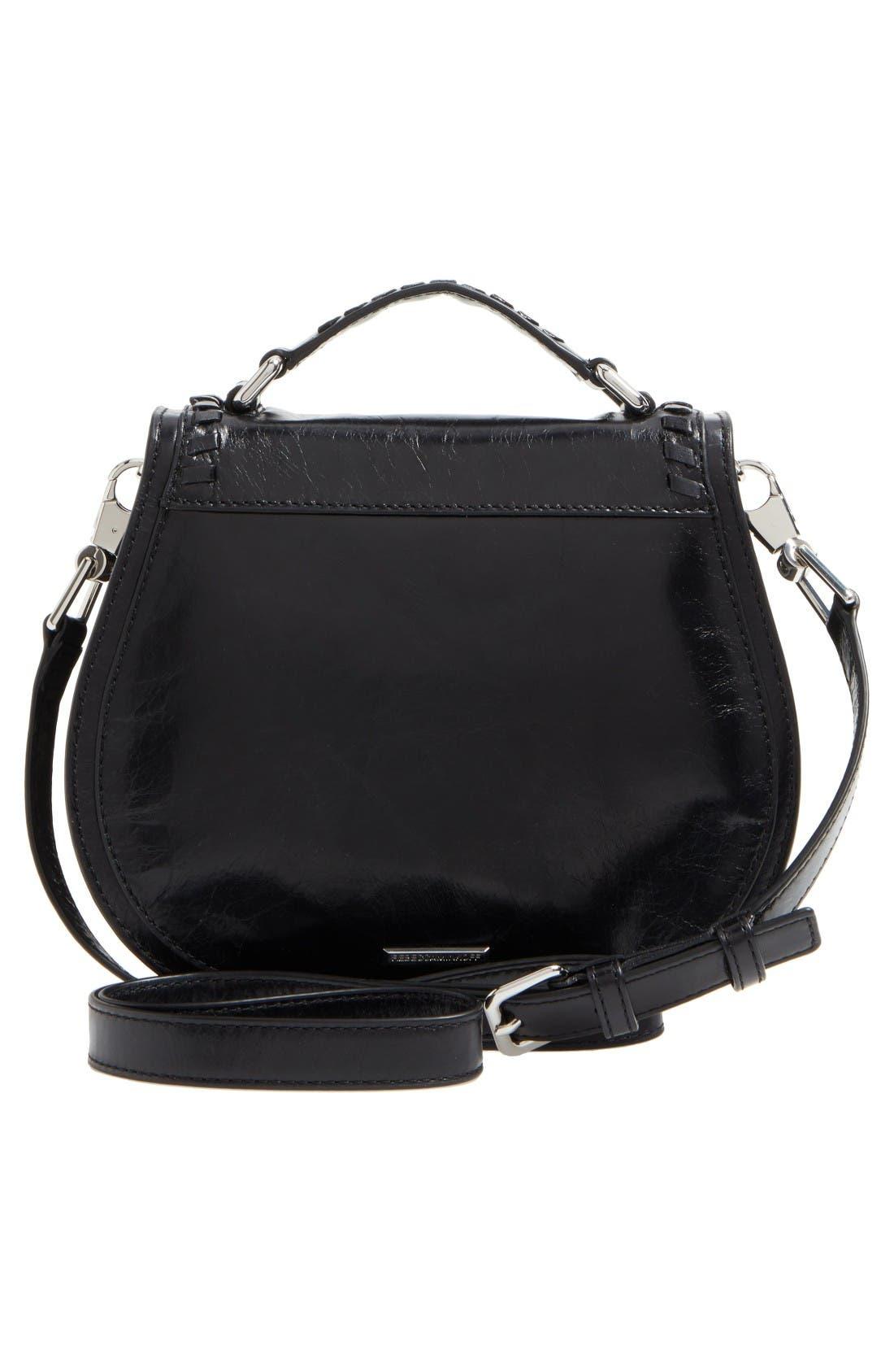 Alternate Image 3  - Rebecca Minkoff Small Vanity Leather Saddle Bag