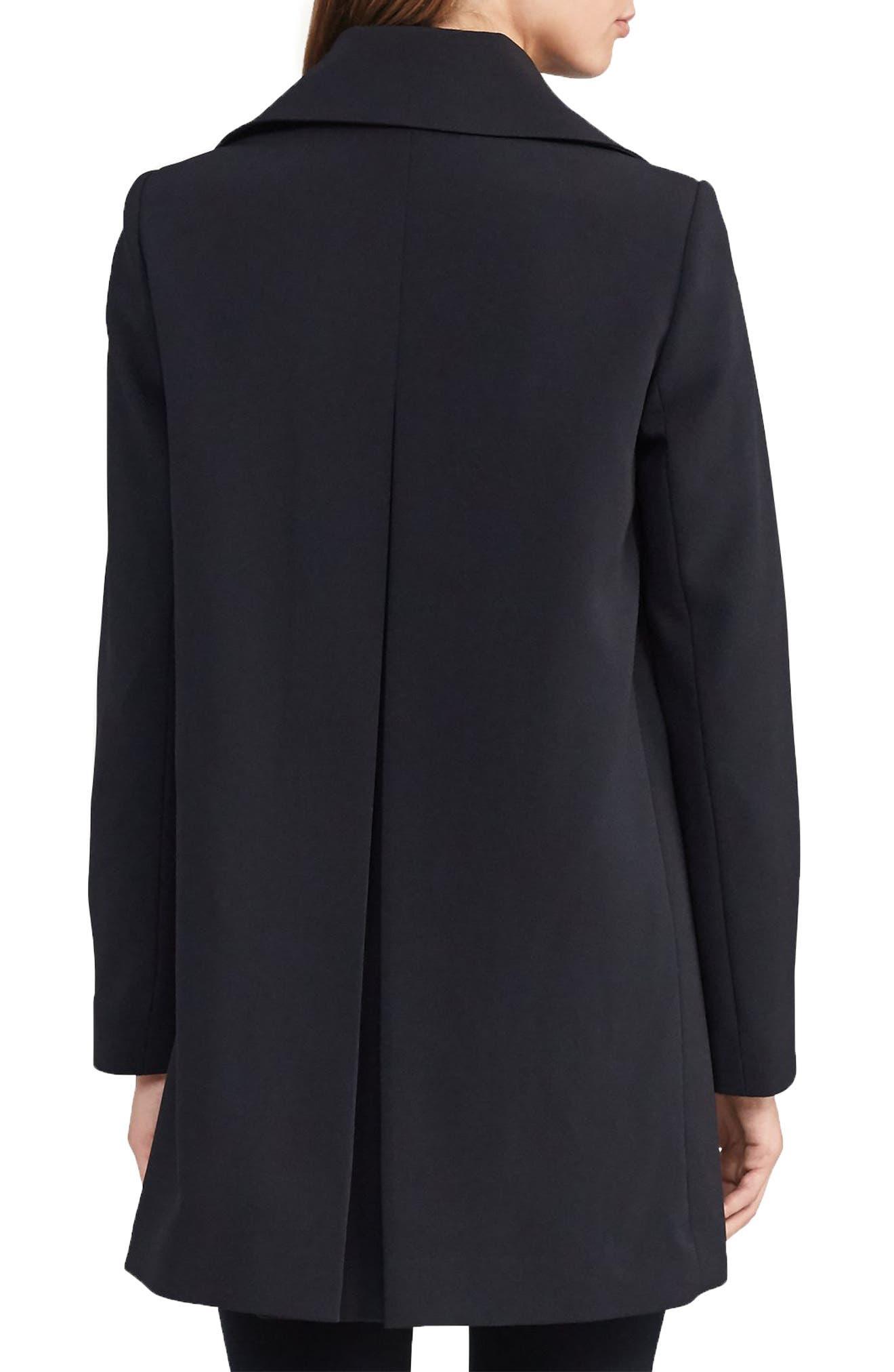 Crepe Jacket,                             Alternate thumbnail 2, color,                             Black