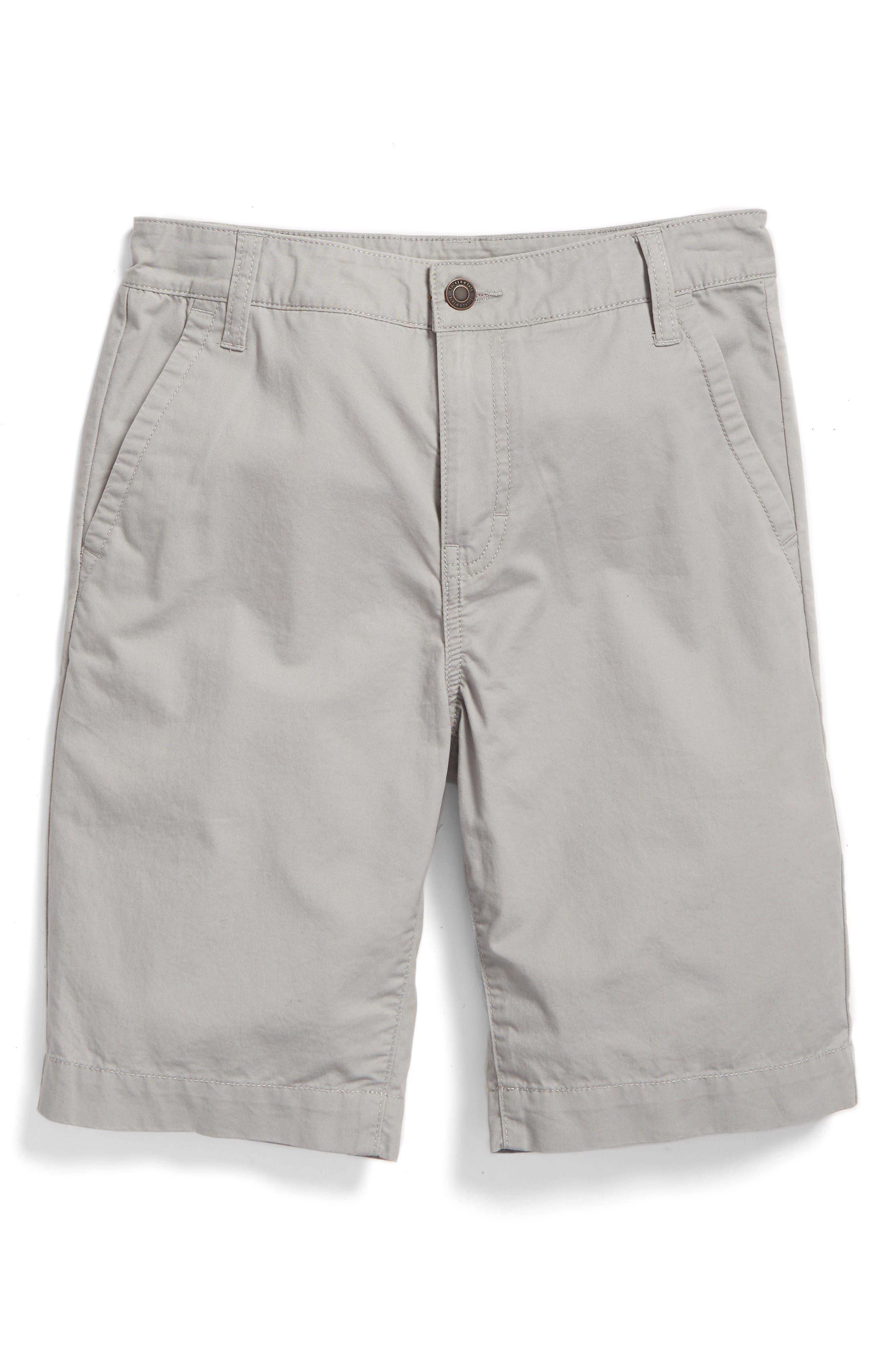 Chino Shorts,                         Main,                         color, Grey Alloy