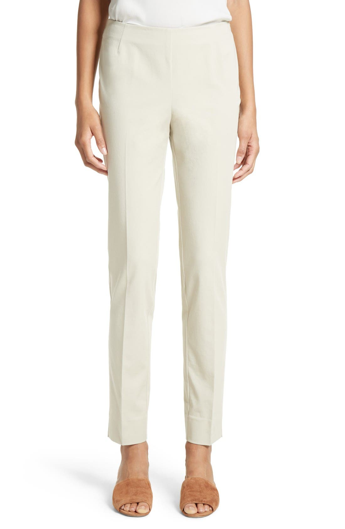 Alternate Image 1 Selected - Lafayette 148 New York 'Chrystie' Stretch Twill Pants