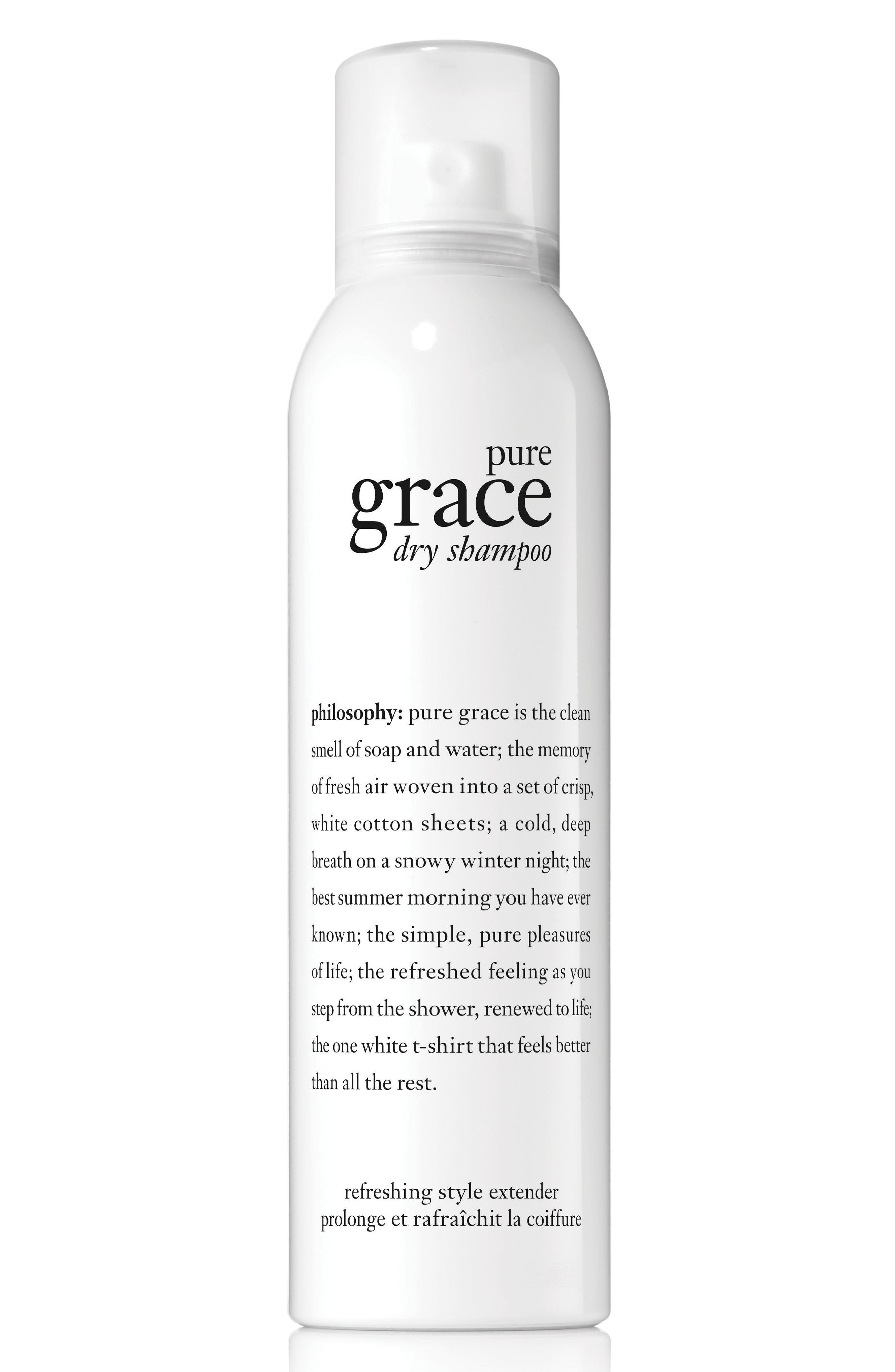 Alternate Image 1 Selected - philosophy pure grace dry shampoo