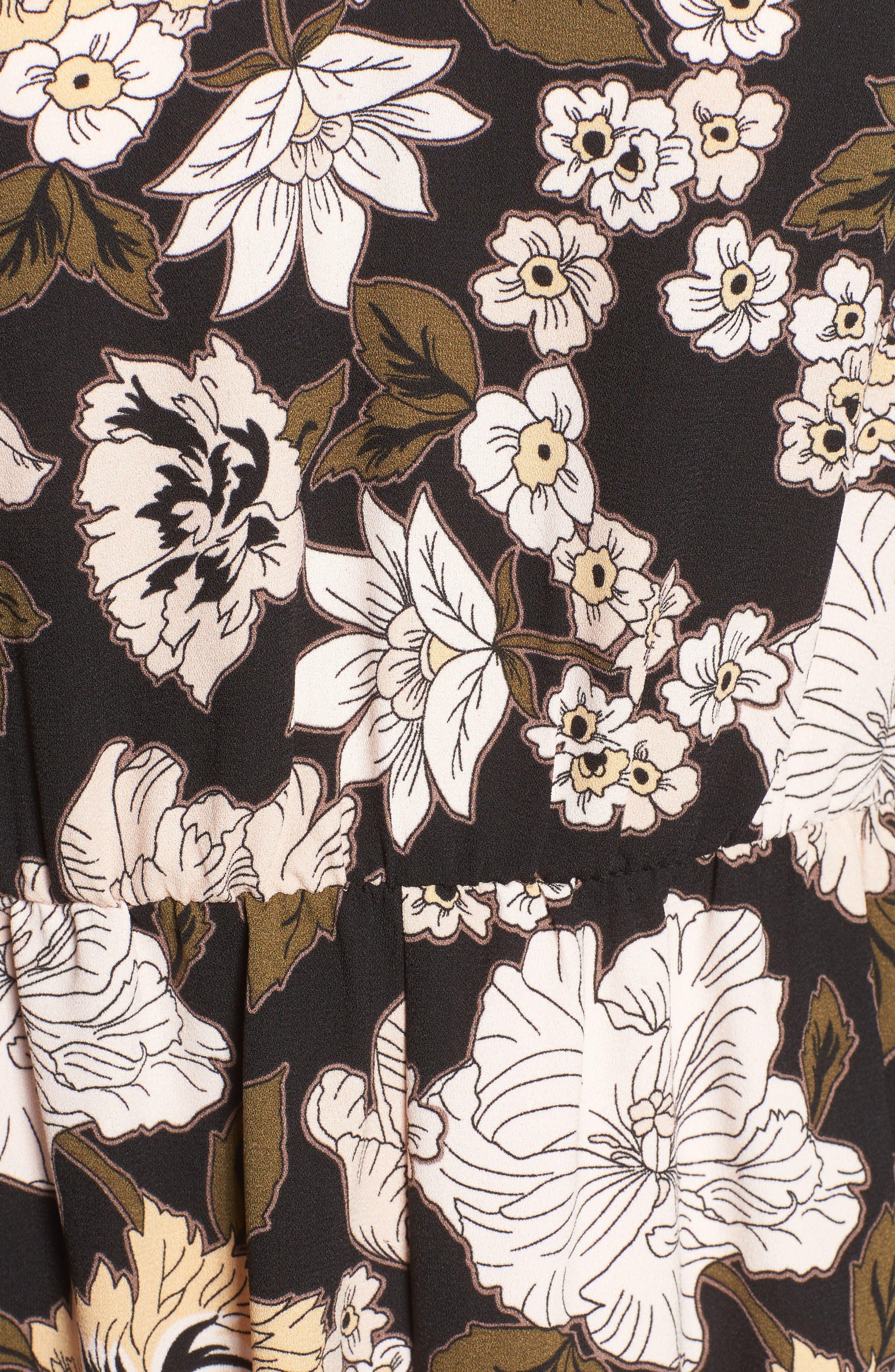 Alternate Image 5  - Leith Floral Print Romper