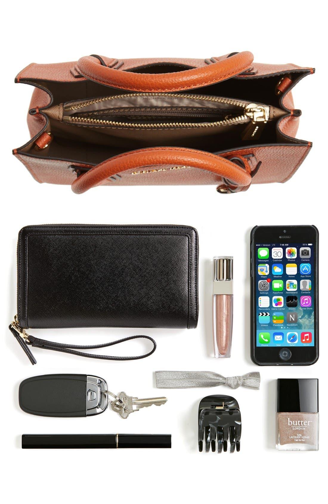 Alternate Image 7  - MICHAEL Michael Kors Mercer Leather Crossbody Bag