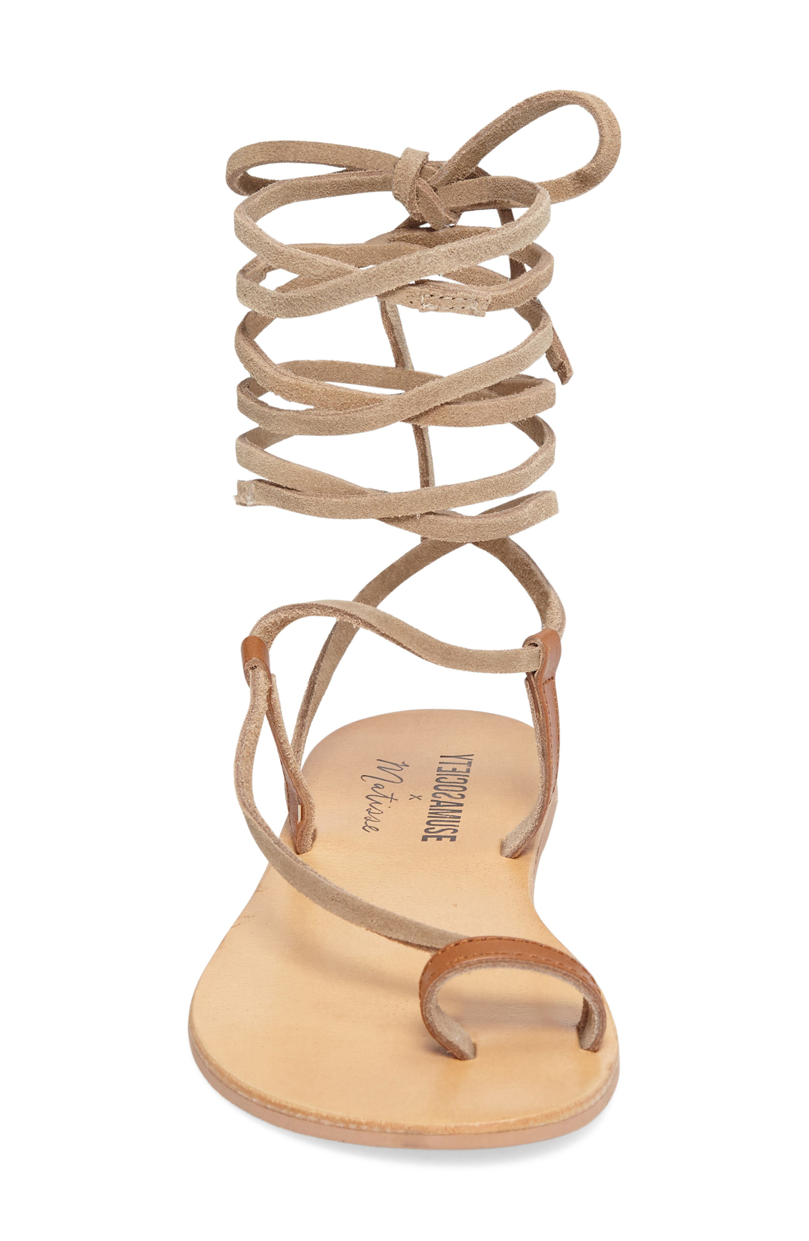 Alternate Image 3  - Amuse Society x Matisse Getaway Wraparound Sandal (Women)