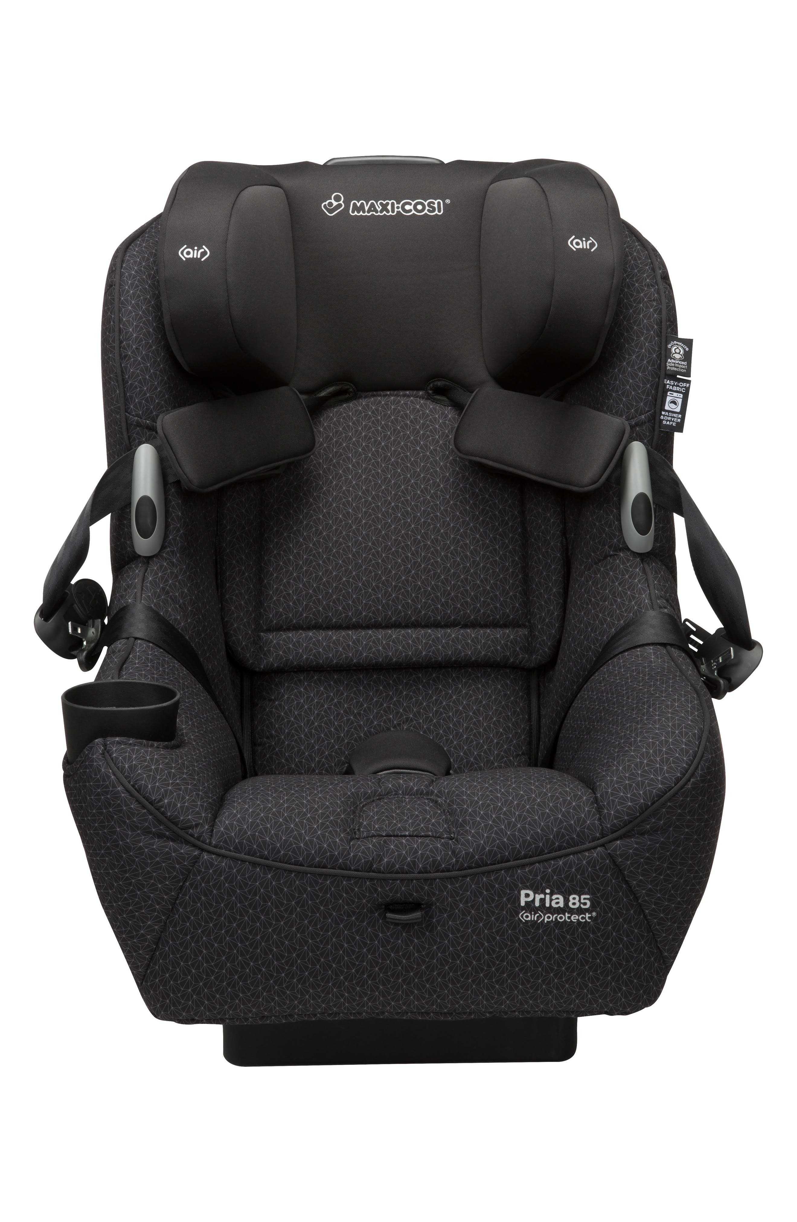 Pria<sup>™</sup> 85 Black Crystal Special Edition Car Seat,                             Alternate thumbnail 5, color,                             Black
