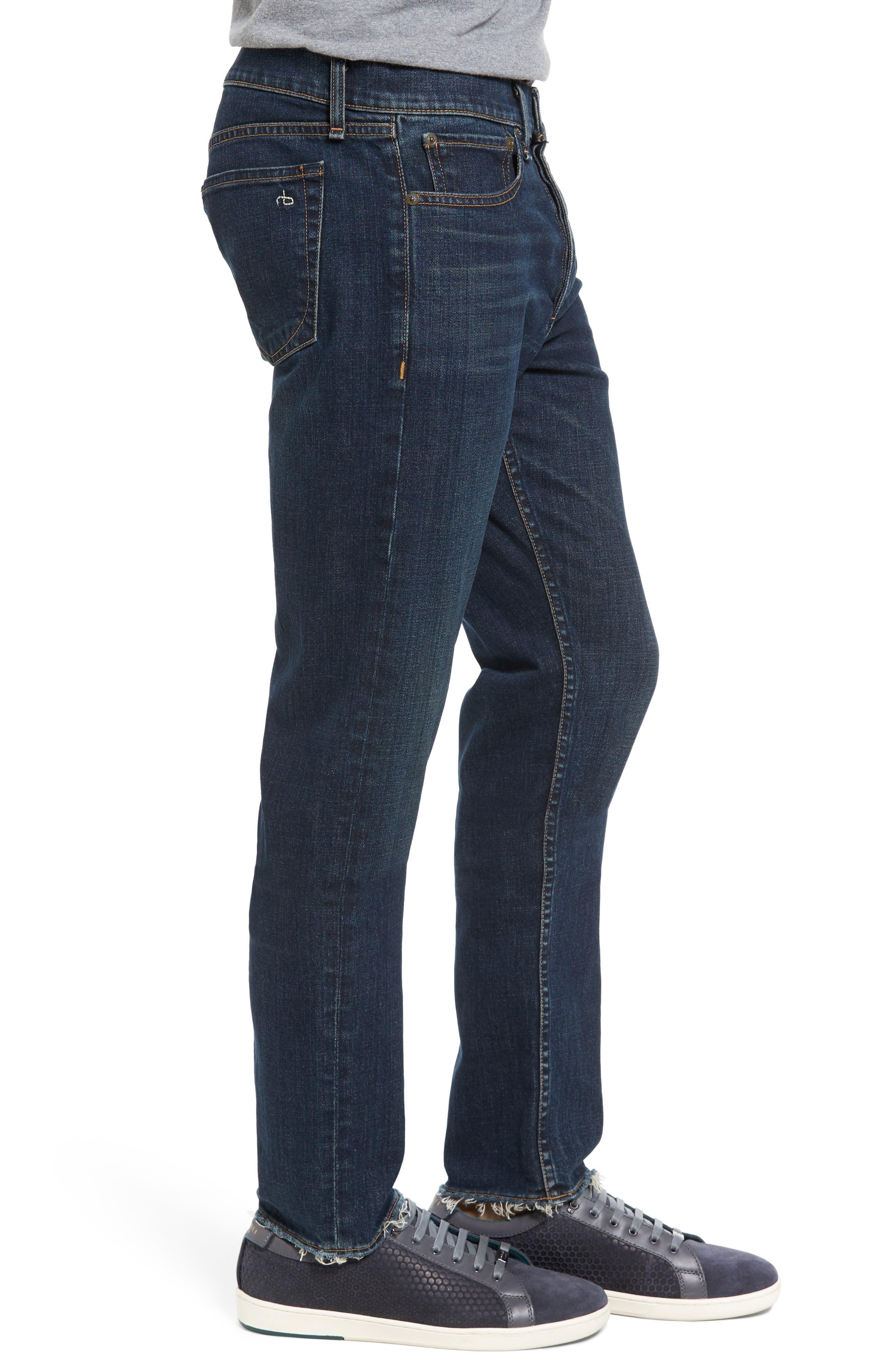 Alternate Image 3  - rag & bone Fit 2 Slim Fit Jeans (Plattsburg)