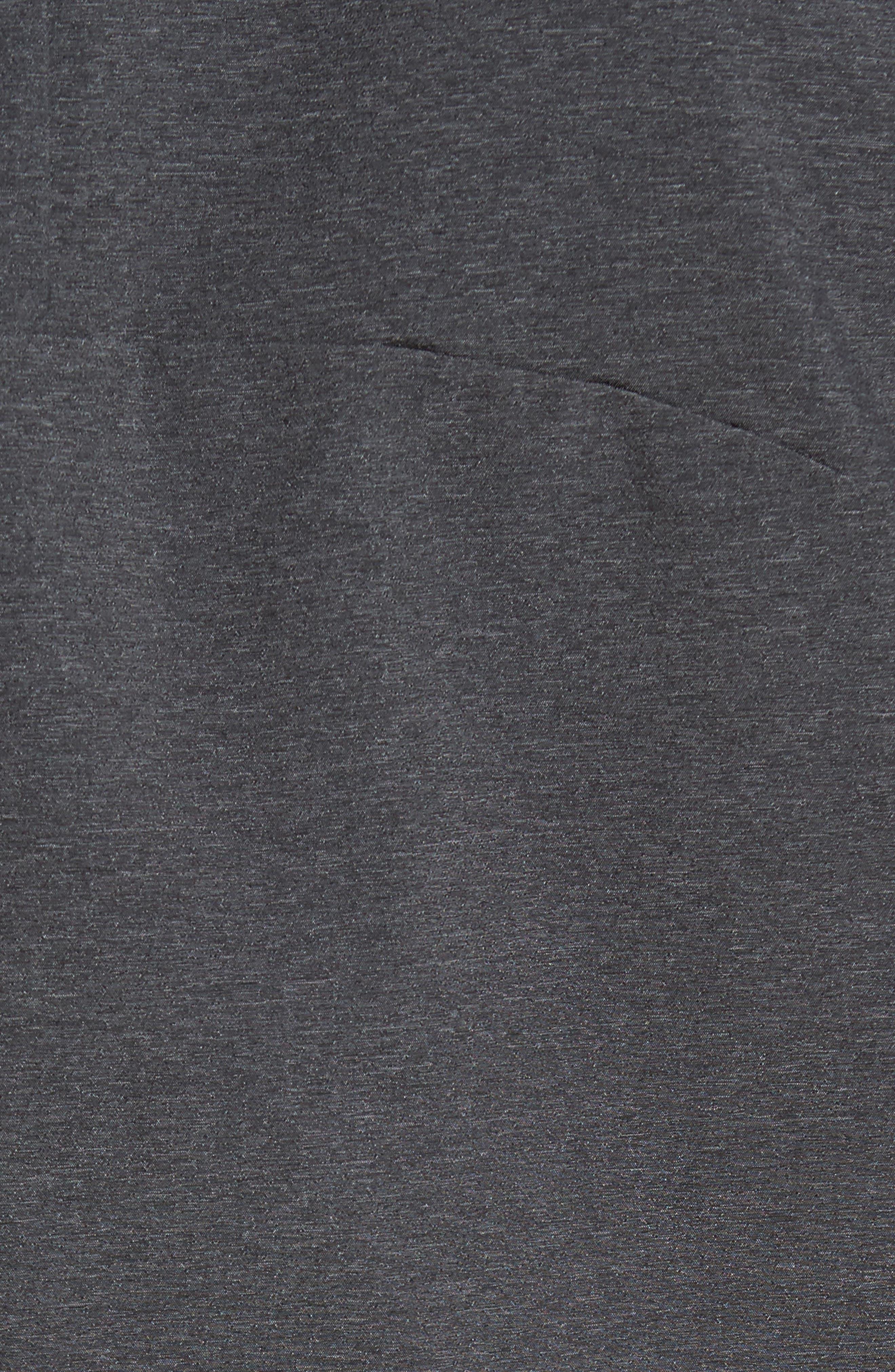 Apex Saroka Bomber Jacket,                             Alternate thumbnail 5, color,                             Tnf Black Denim