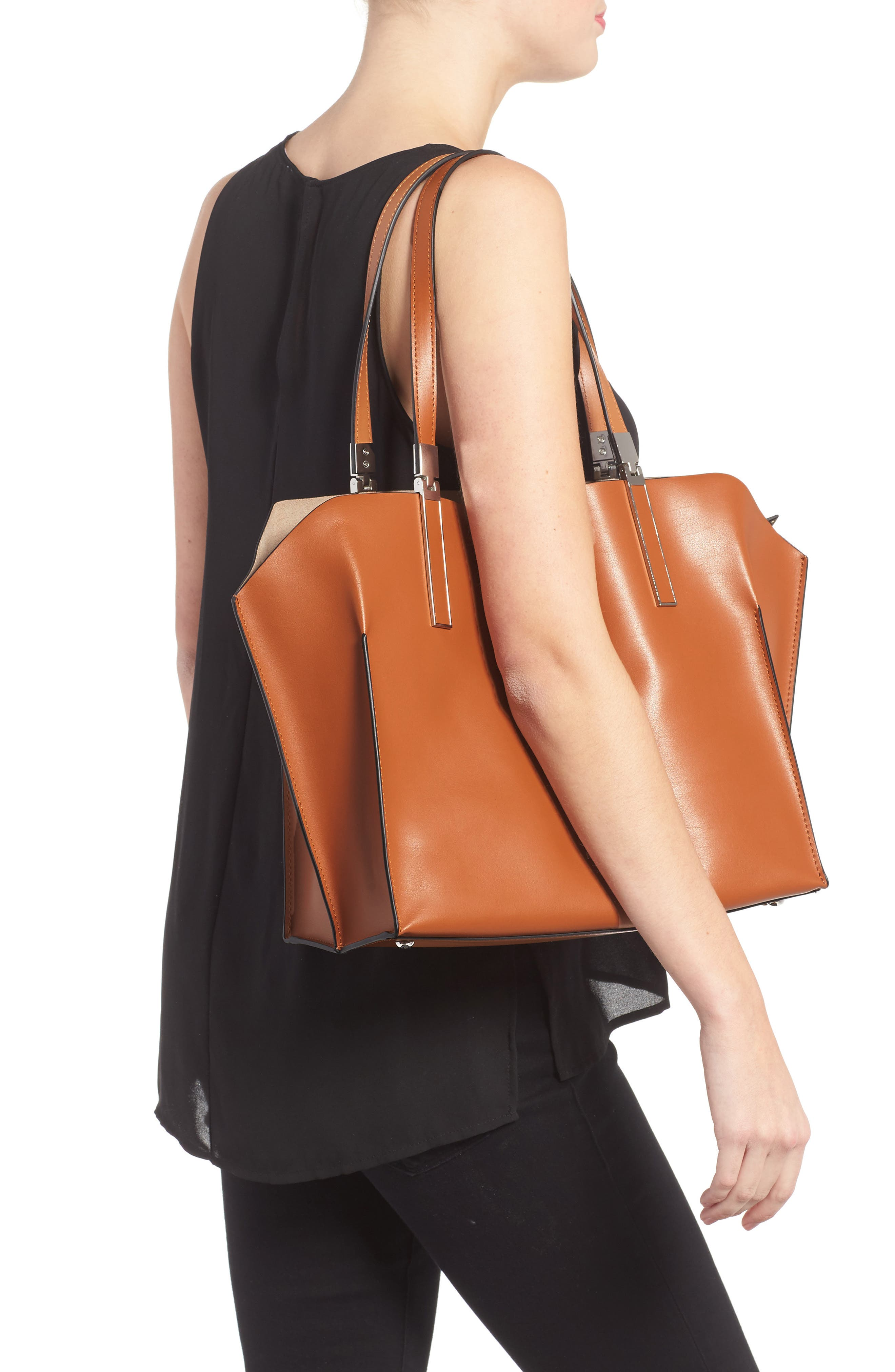 Alternate Image 2  - Lodis 'Blair Collection - Anita' Leather Tote