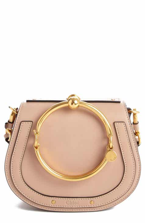 15bfe9079e Chloé Small Nile Bracelet Leather Crossbody Bag