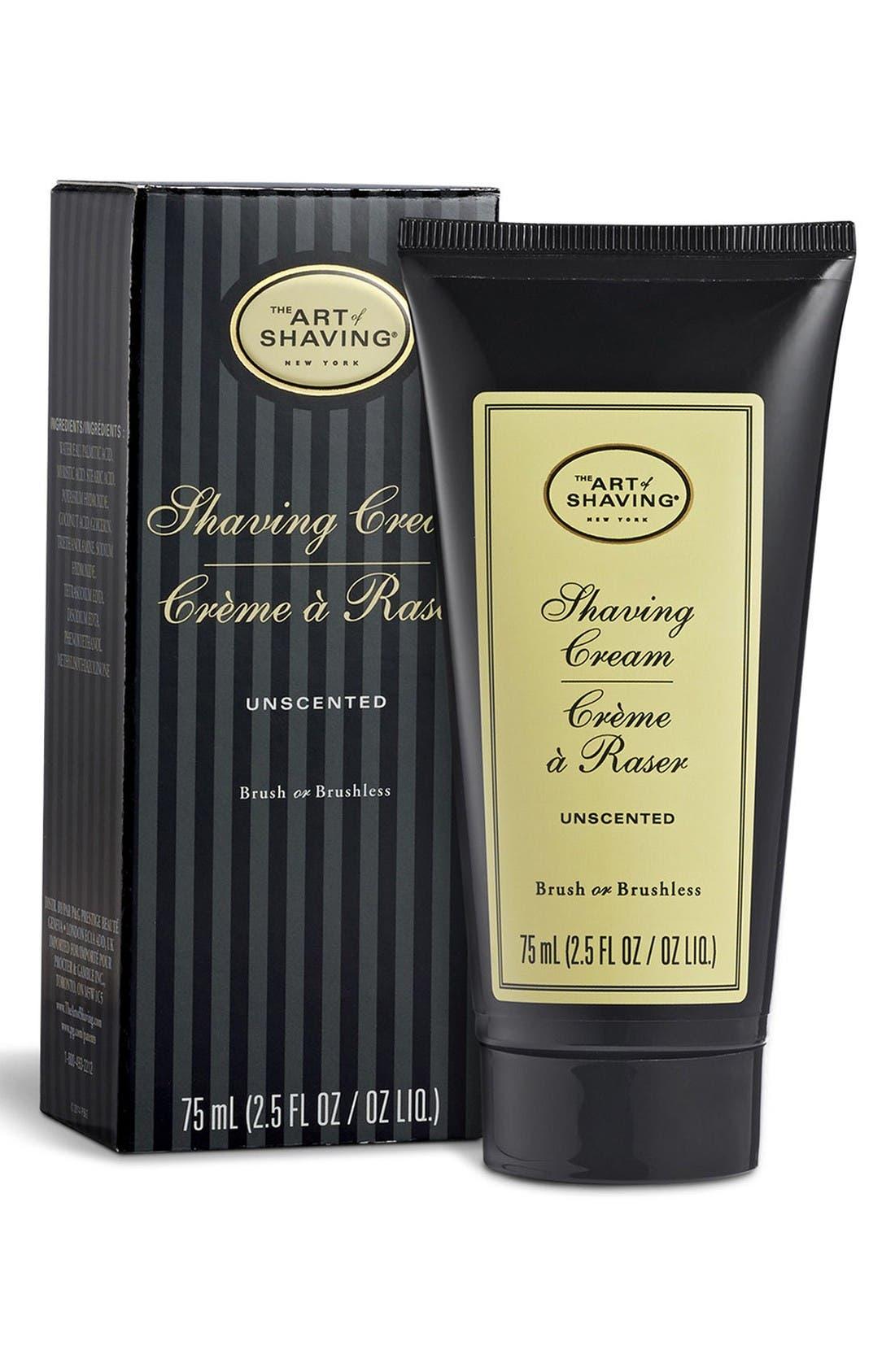 Alternate Image 2  - The Art of Shaving® Unscented Shaving Cream Tube