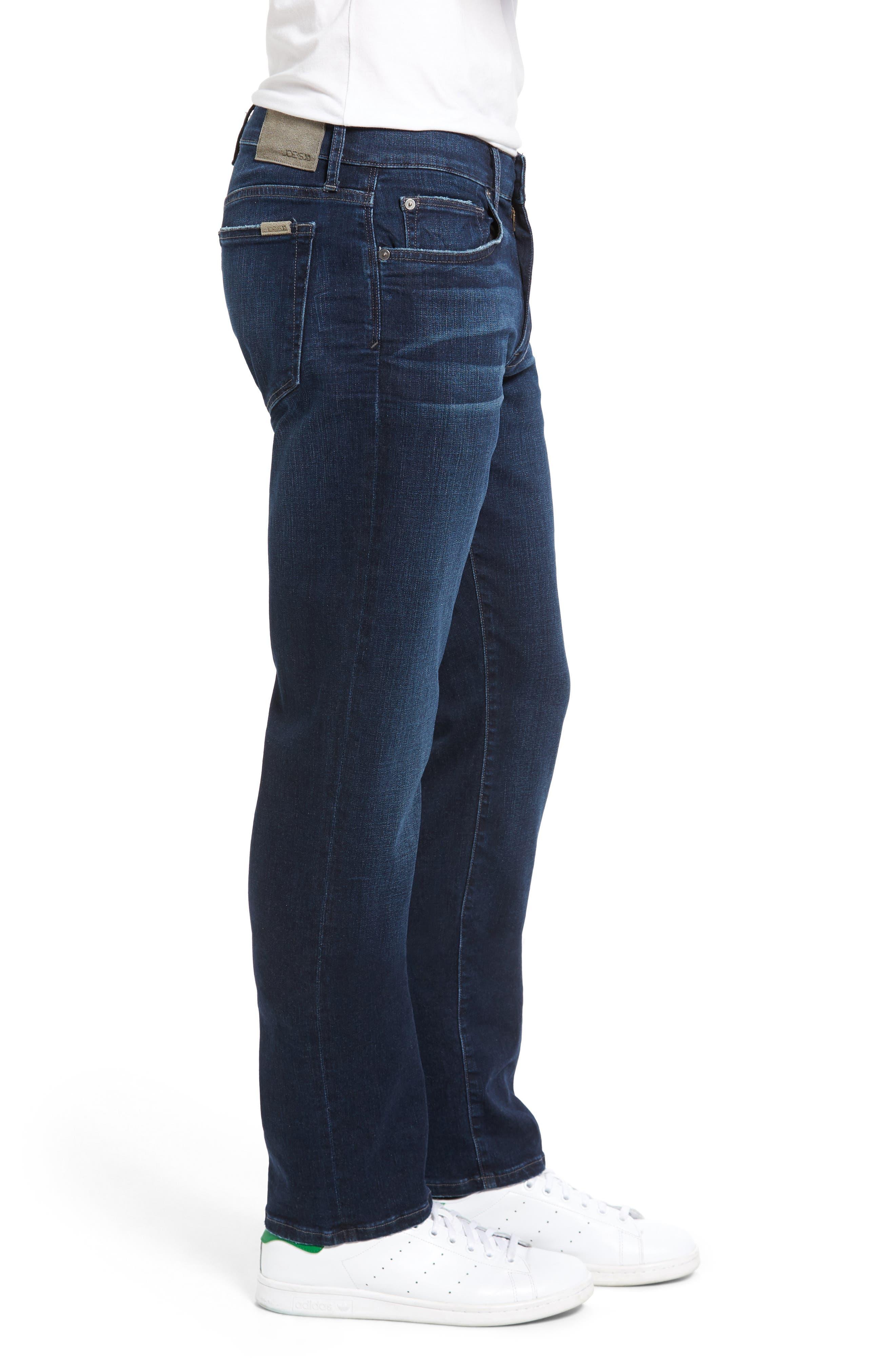 Brixton Kinetic Slim Straight Leg Jeans,                             Alternate thumbnail 3, color,                             Aedan