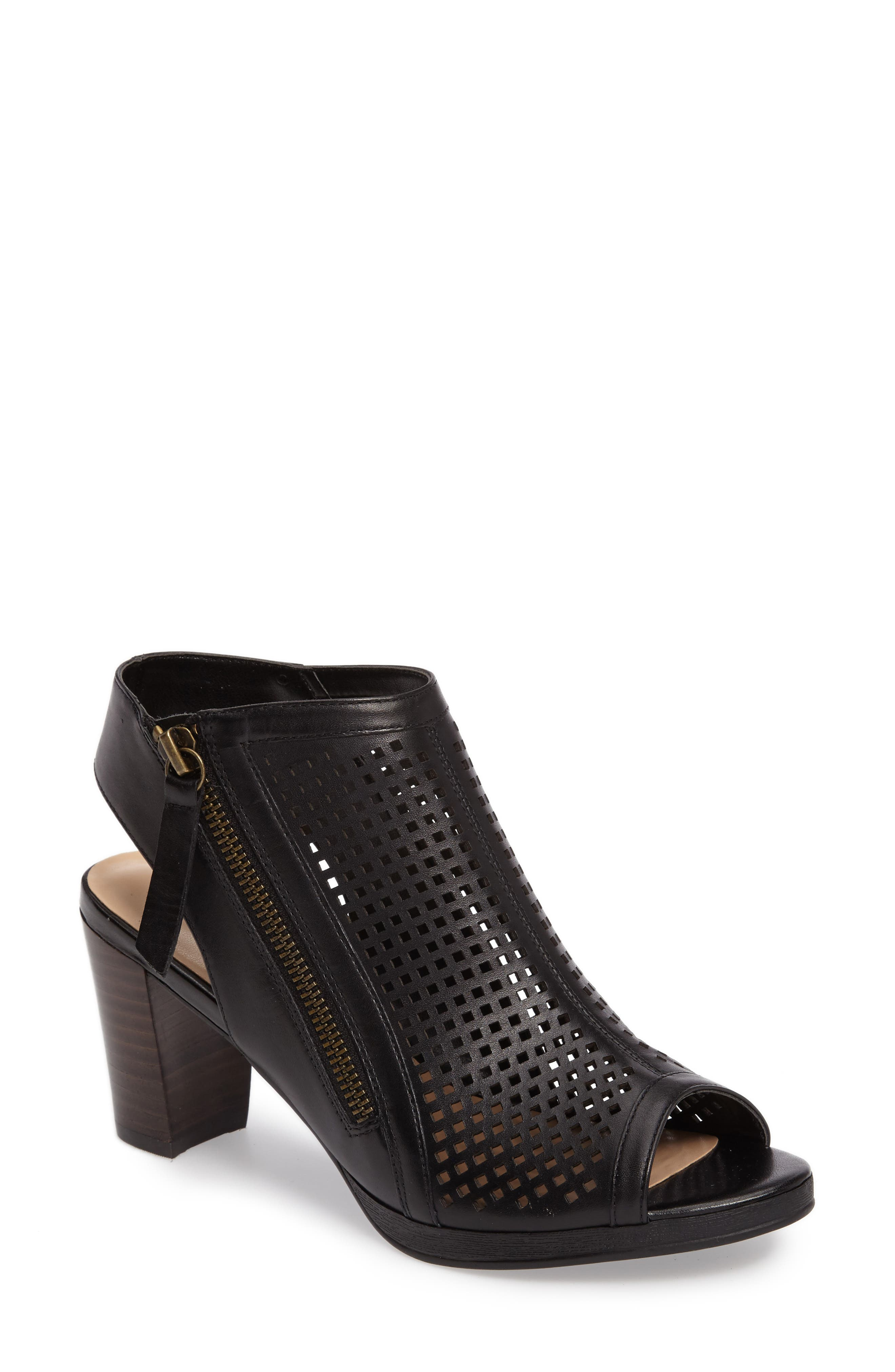 Bella Vita Lenore Open Toe Bootie (Women)
