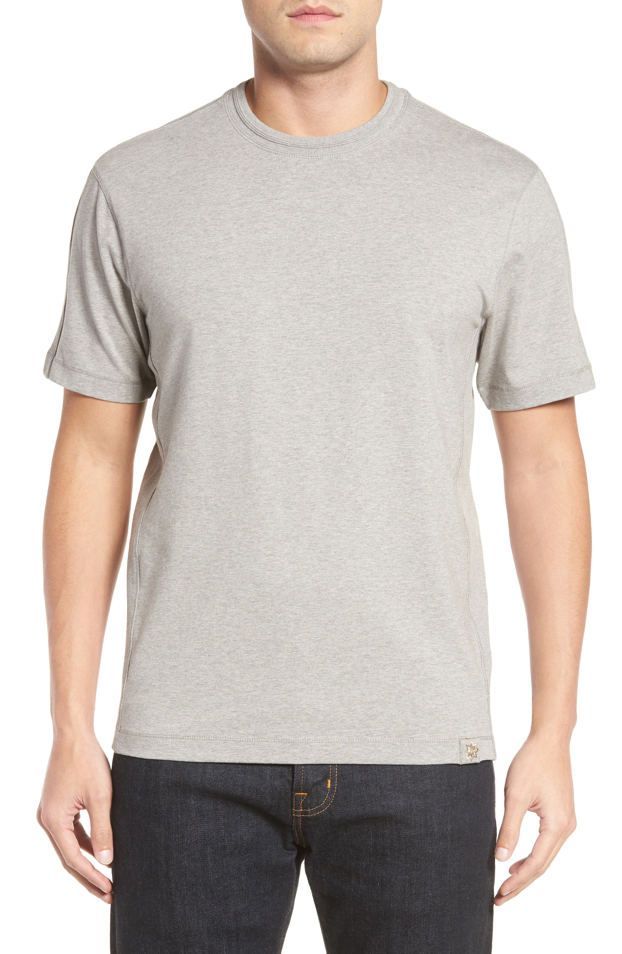 Steve Stretch Jersey T-Shirt,                         Main,                         color, Silver