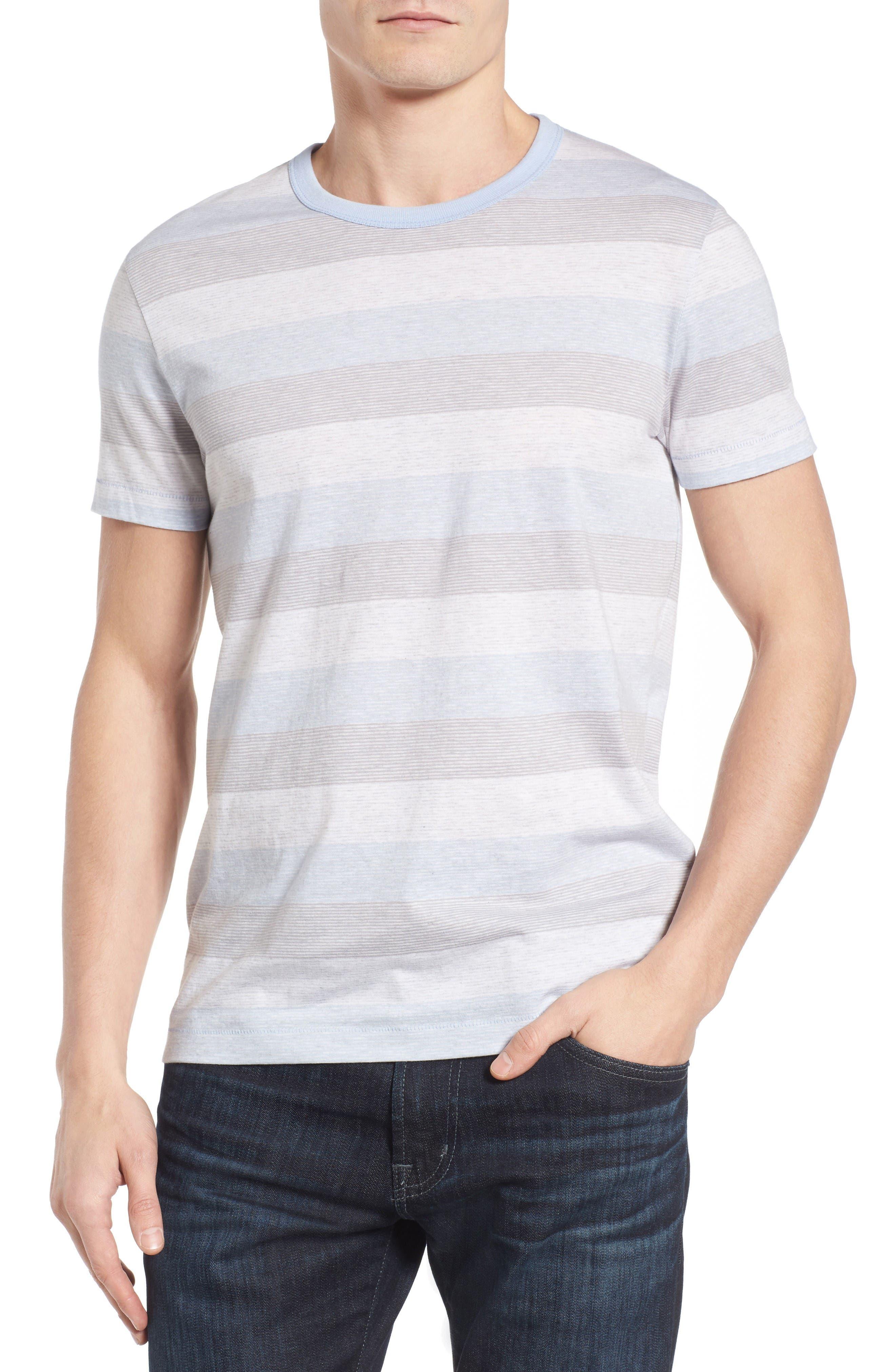 Bose Stripe T-Shirt,                             Main thumbnail 1, color,                             Kentucky Blue