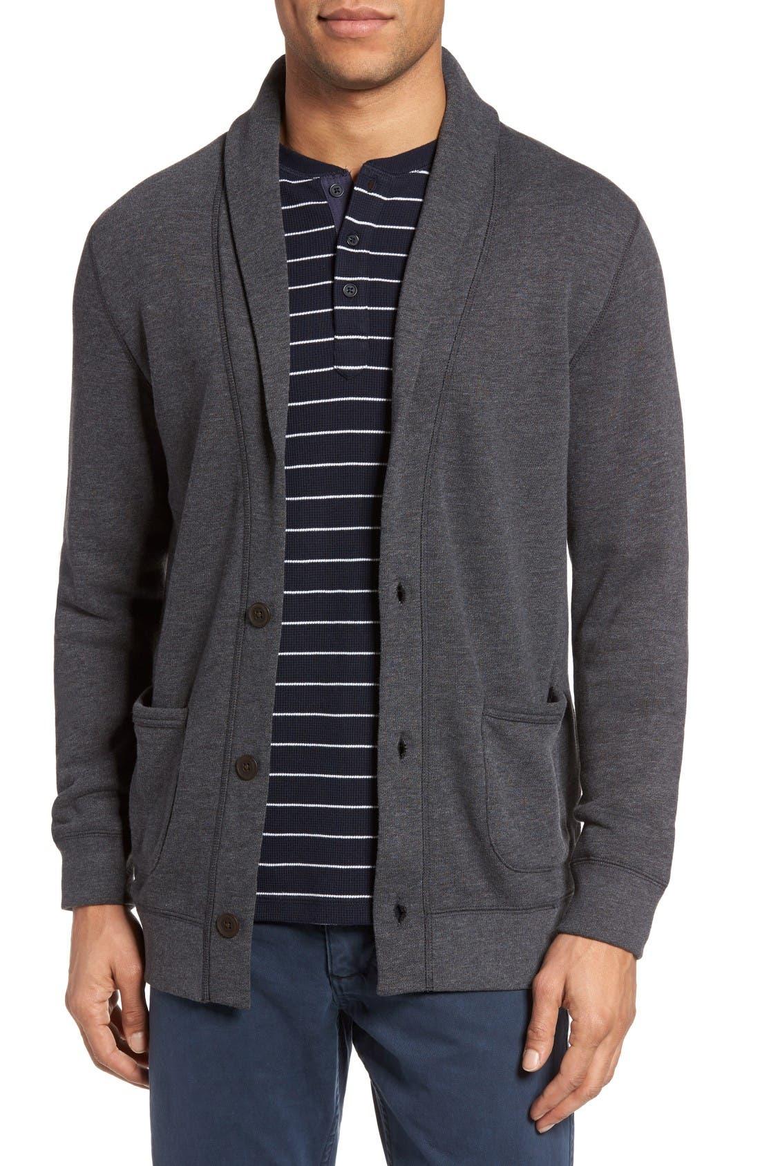 Cardigan,                         Main,                         color, Grey