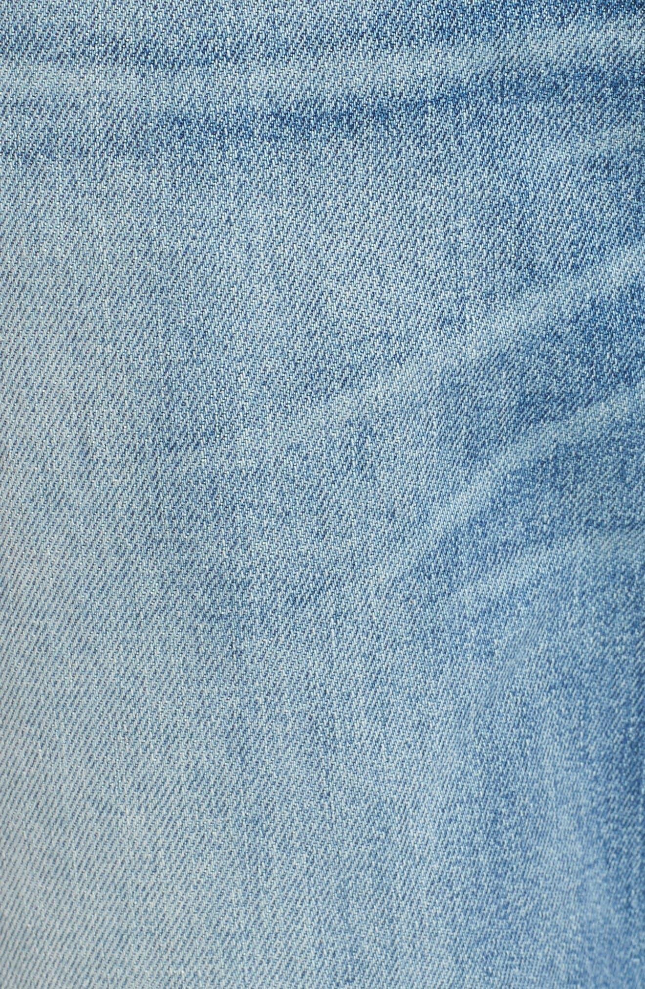 Alternate Image 5  - Hudson Jeans Sator Skinny Fit Jeans (Banned)