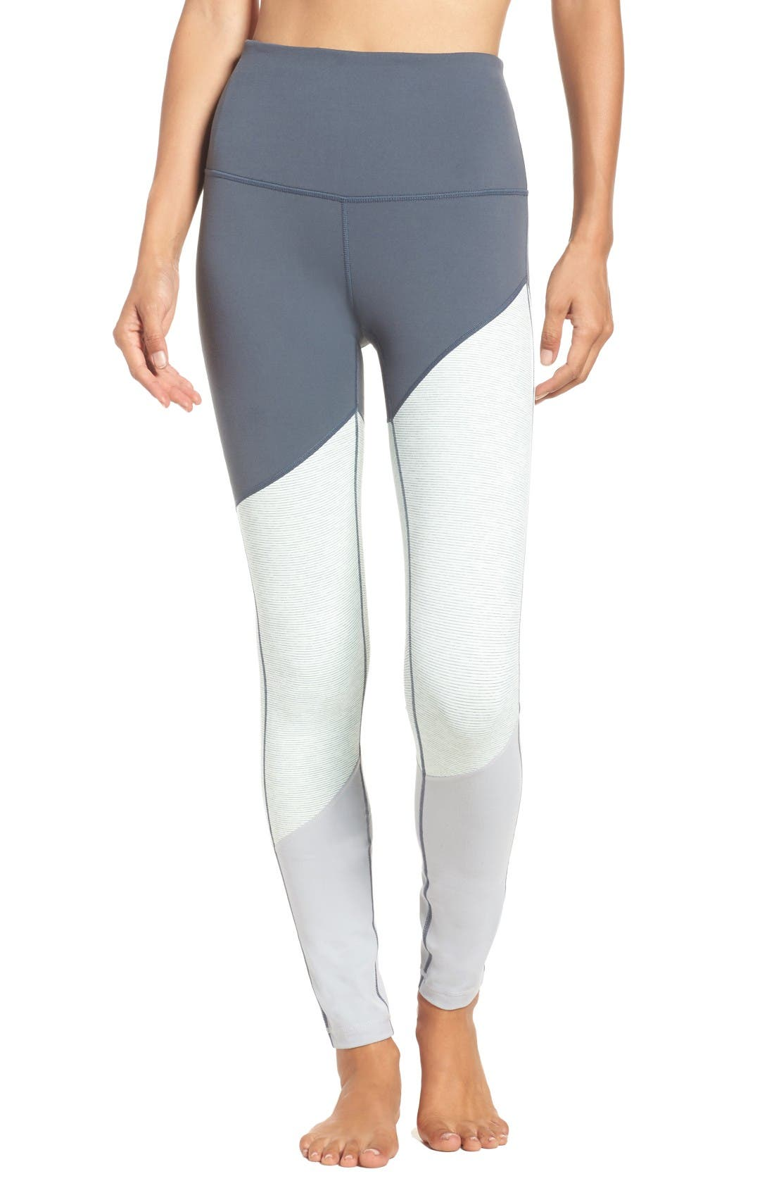 Alternate Image 2  - Zella Yolo High Waist Leggings