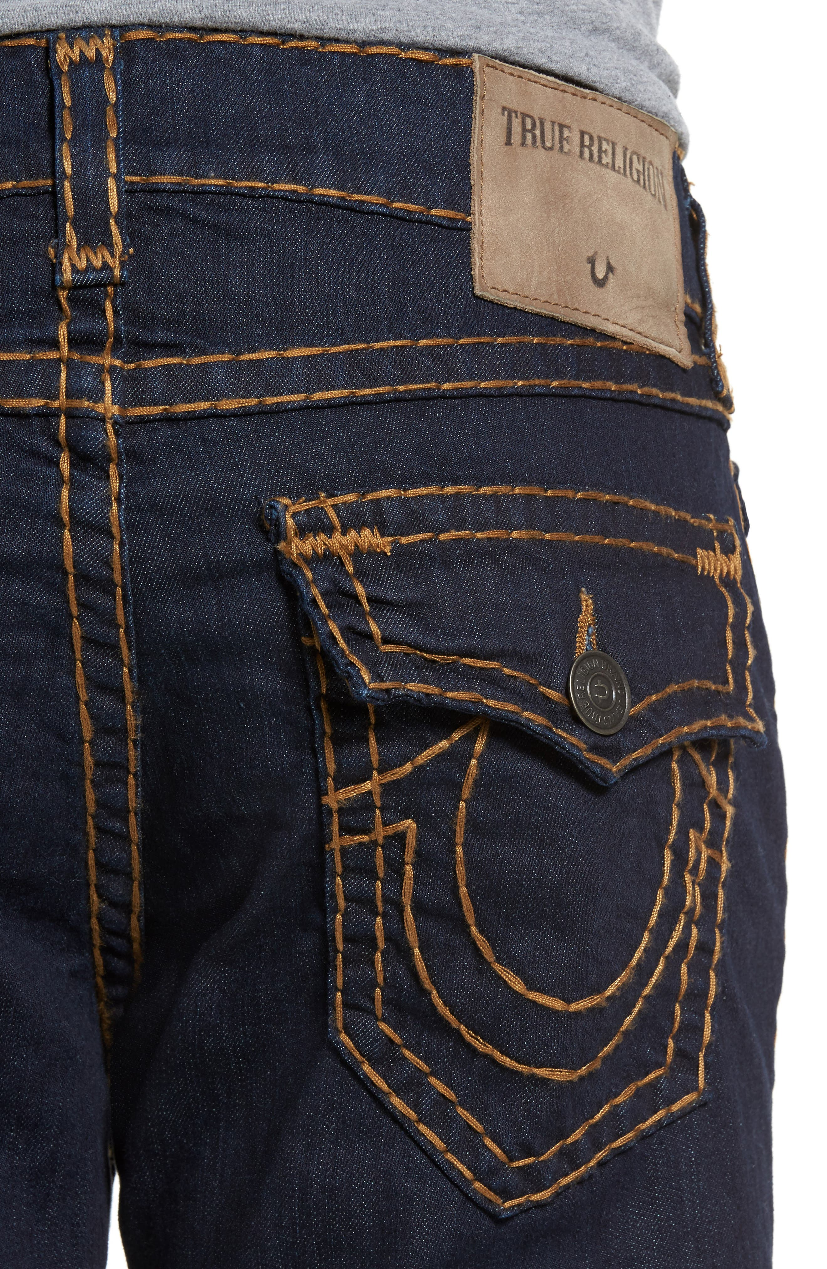 Alternate Image 4  - True Religion Brand Jeans Ricky Relaxed Fit Jeans (Body Rinse)