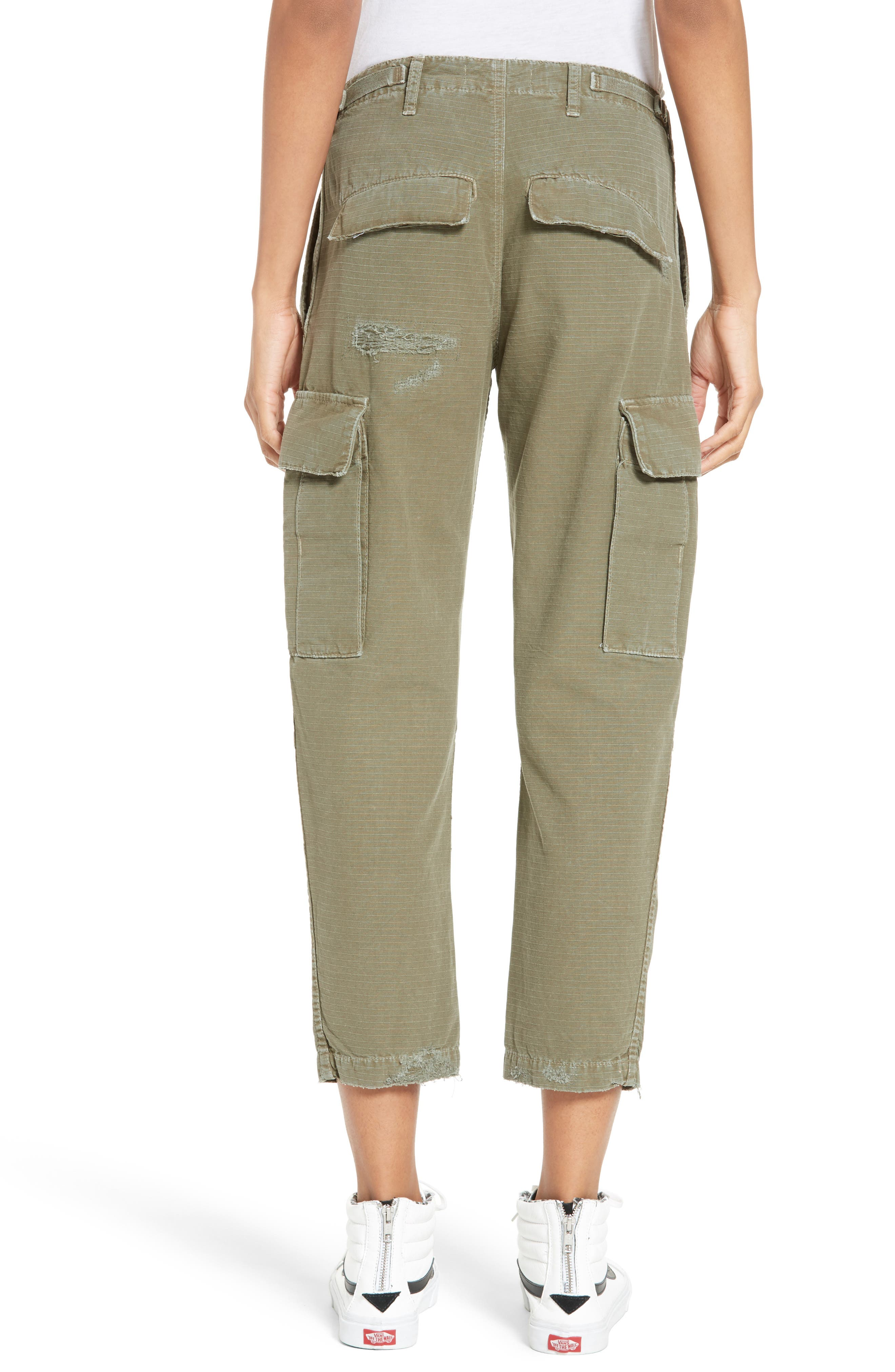 Cargo Pants,                             Alternate thumbnail 3, color,                             Army Green