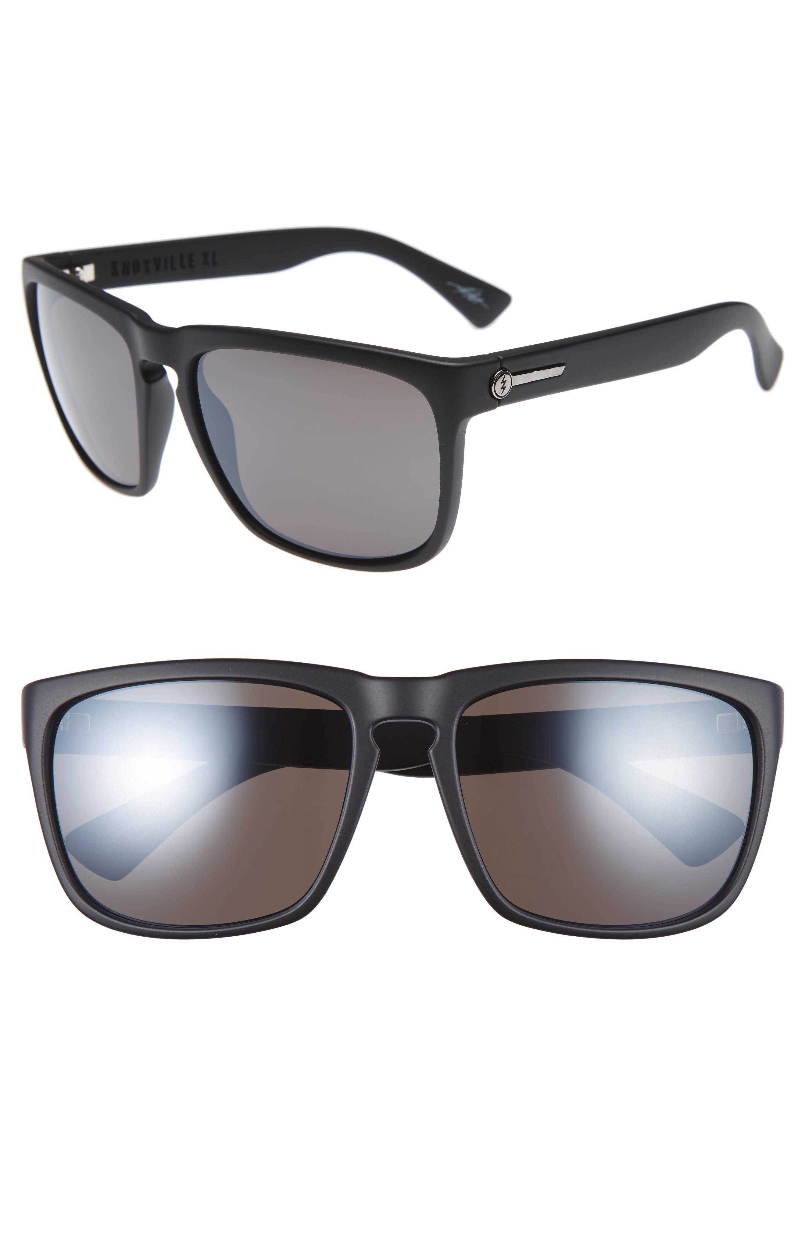 Knoxville XL 61mm Sunglasses,                         Main,                         color, Dark Chrome/ Silver Chrome