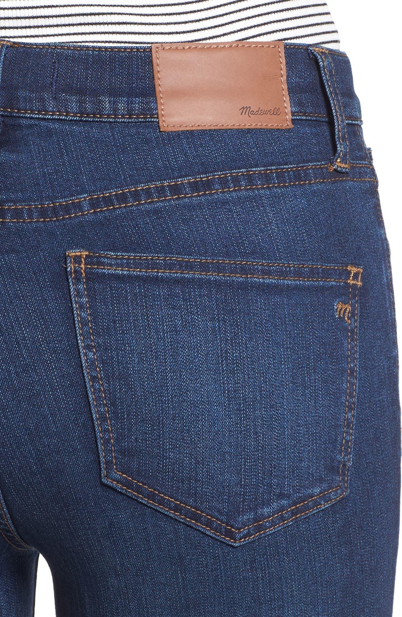 Alternate Image 4  - Madewell Roadtripper Jeans (Darryl Wash)