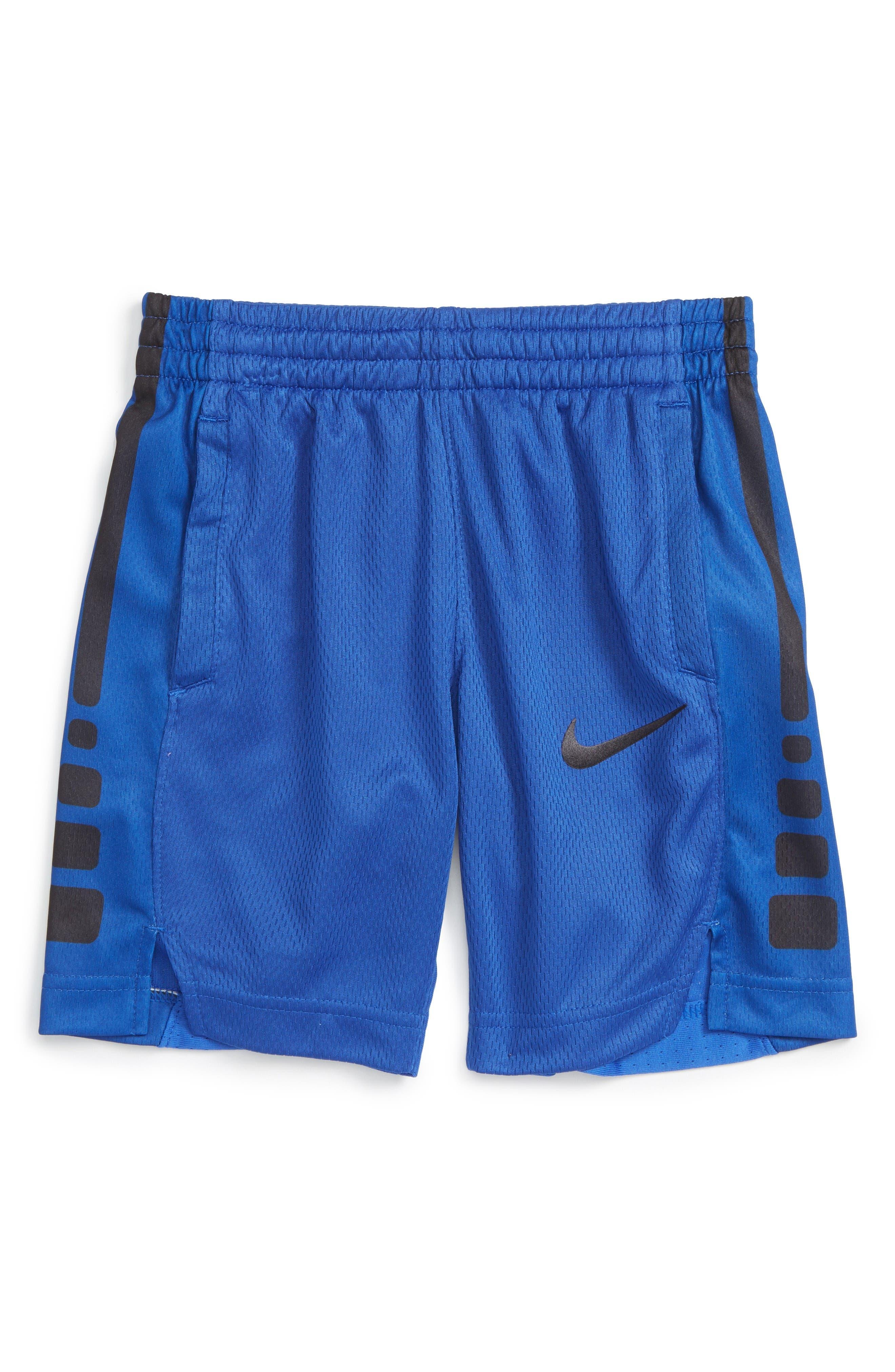 Elite Stripe Shorts,                         Main,                         color, Game Royal